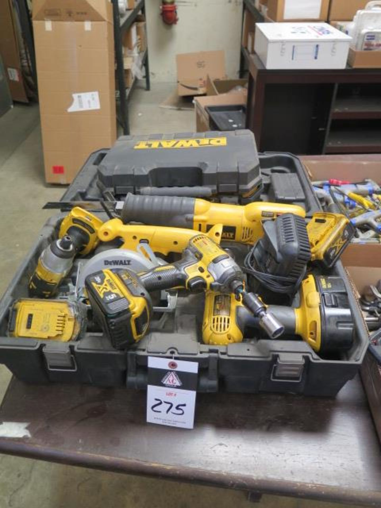 DeWalt Cordless Tools w/ Charger (SOLD AS-IS - NO WARRANTY)