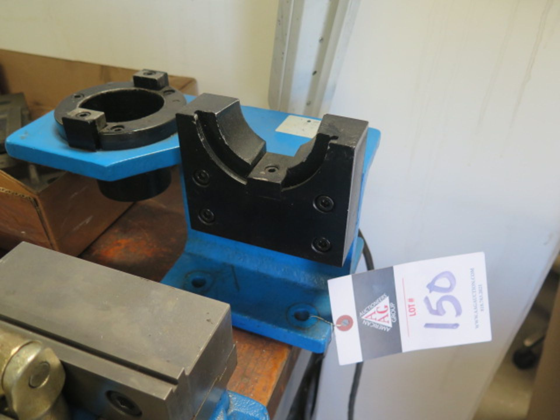 50-Taper Tooling Block (SOLD AS-IS - NO WARRANTY)