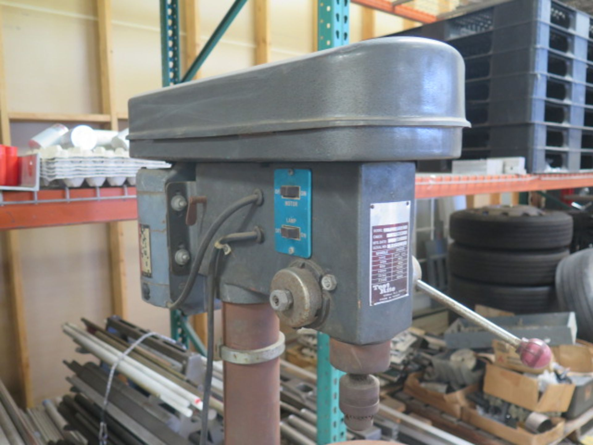 Test Rite Pedestal Drill Press (SOLD AS-IS - NO WARRANTY) - Image 3 of 6