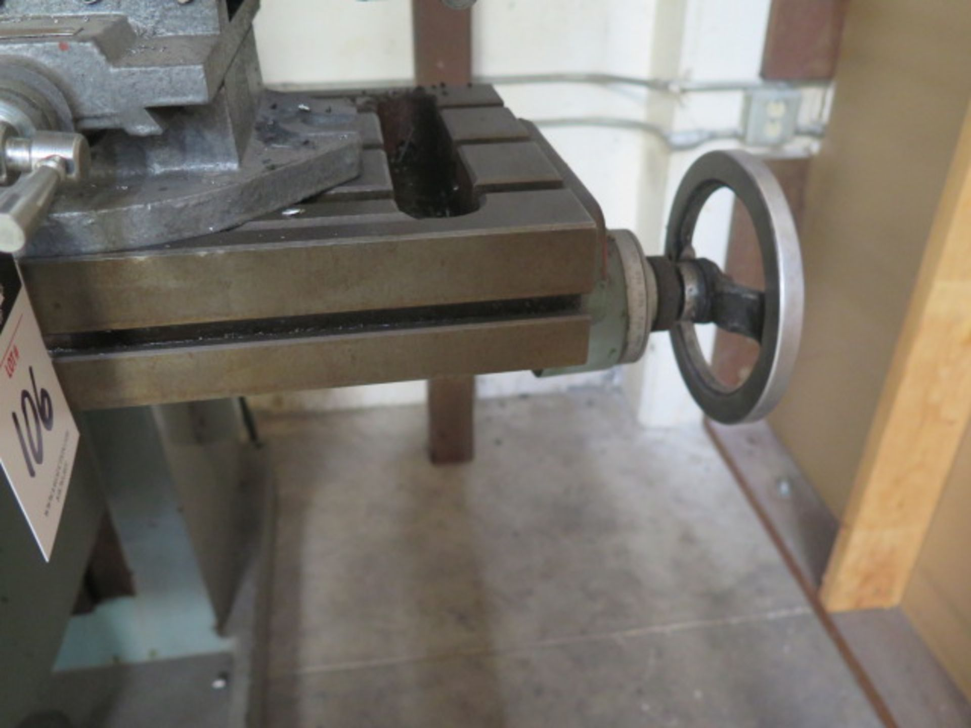 """Import Vertical Mill w/ 3Hp Motor, 80-2720 RPM, 8-Speeds, R8 Spindle, 10"""" x 48"""" Table (SOLD AS- - Image 8 of 9"""