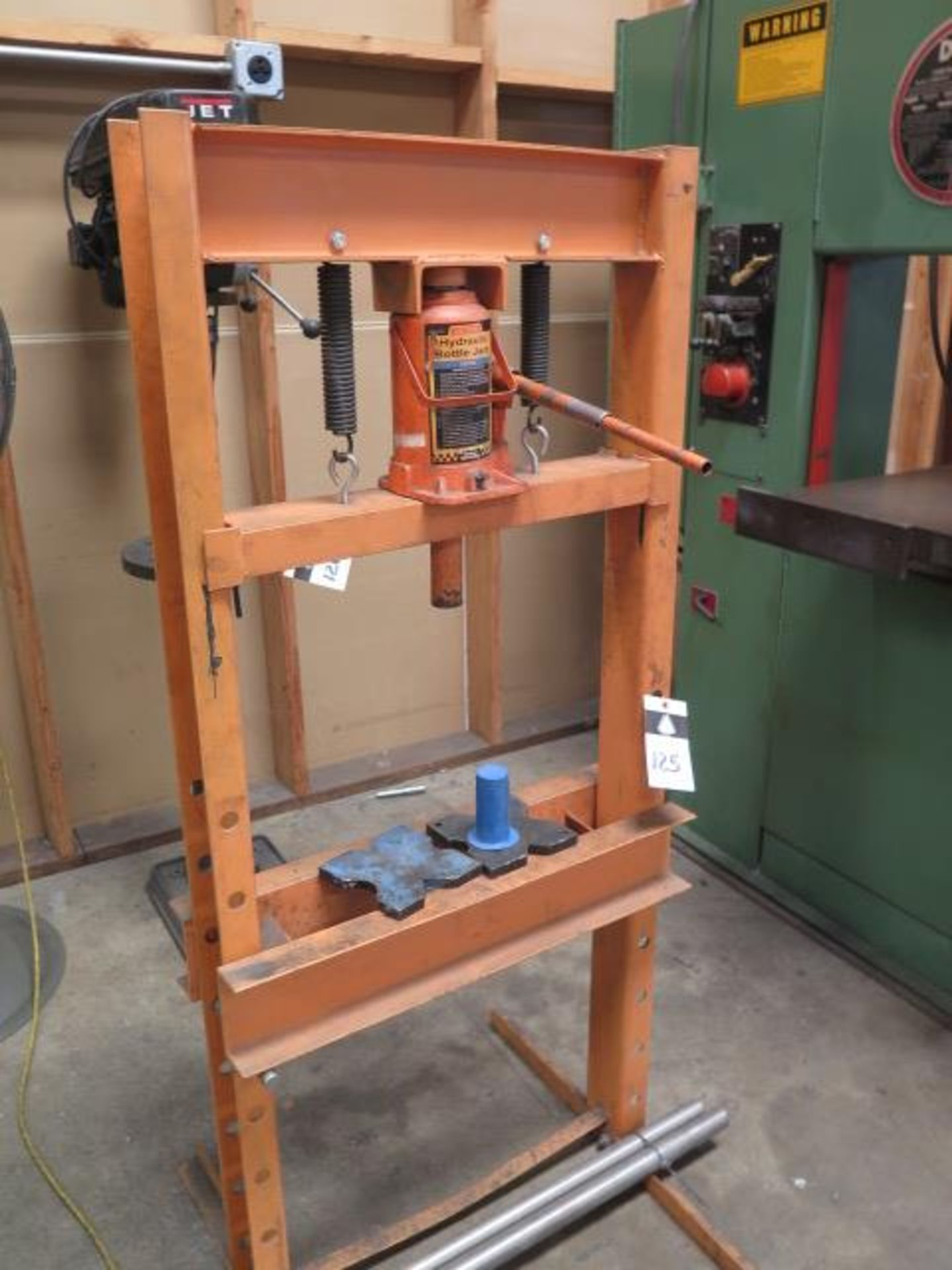 Central Hydraulics 20 Ton Hydraulic H-Frame Press (SOLD AS-IS - NO WARRANTY) - Image 2 of 5