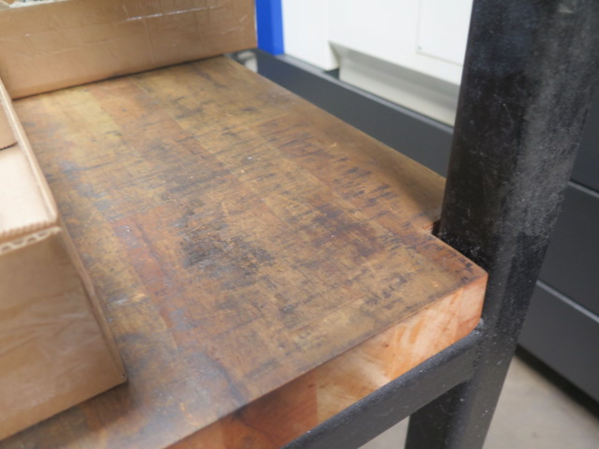 Rolling Maple Top Tables (3) (SOLD AS-IS - NO WARRANTY) - Image 3 of 6