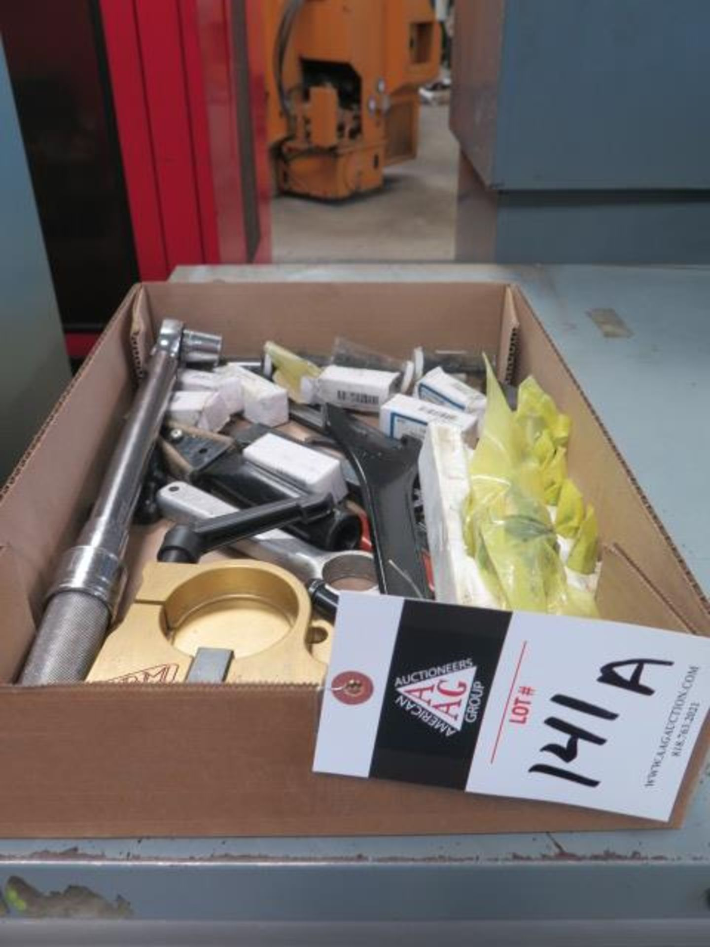 Taper-Tool Tooling (SOLD AS-IS - NO WARRANTY)