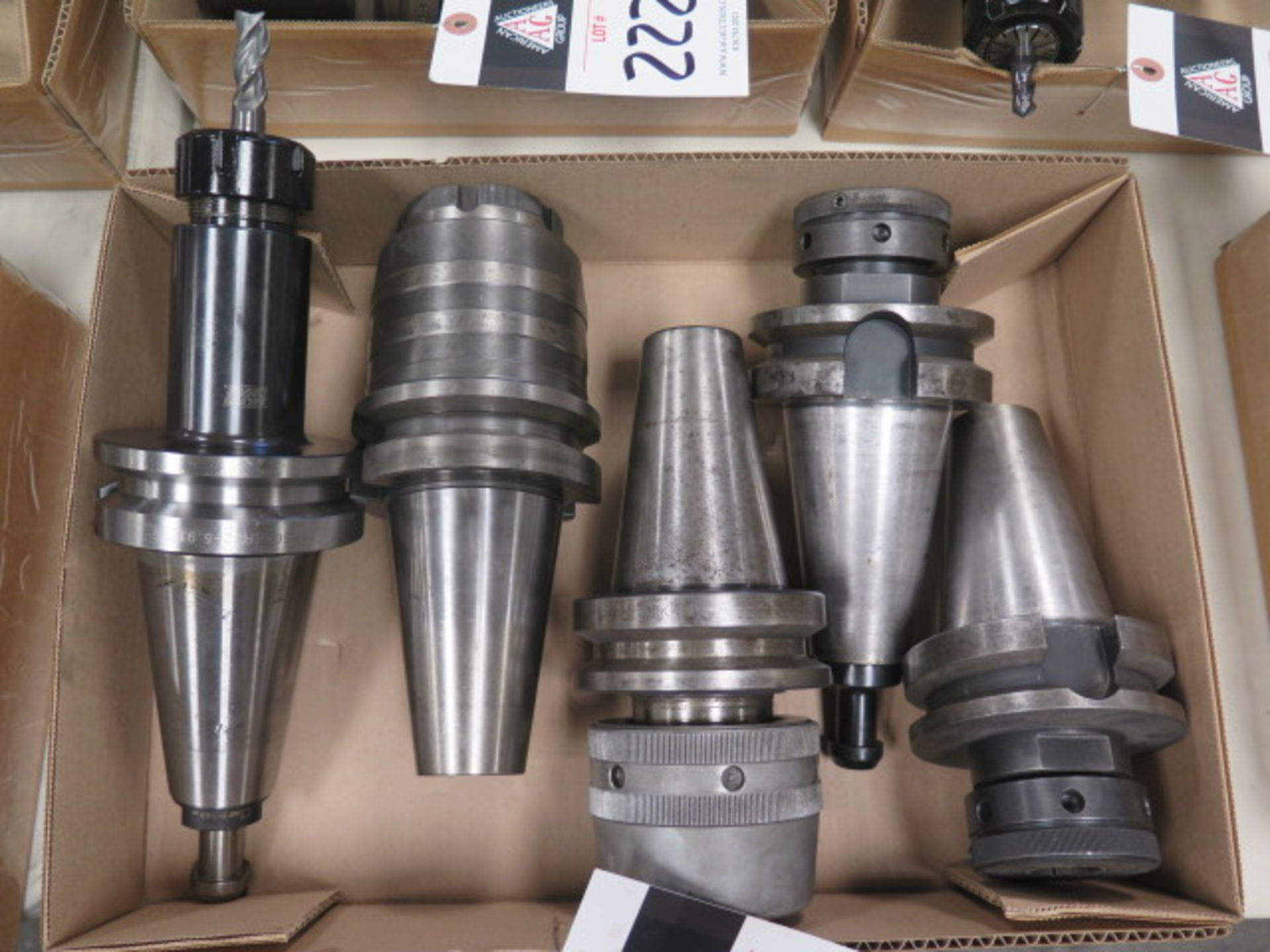 BT-50 Taper Collet Chucks (5) (SOLD AS-IS - NO WARRANTY) - Image 2 of 4