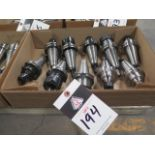 CAT-40 Taper Collet Chucks (10) (SOLD AS-IS - NO WARRANTY)