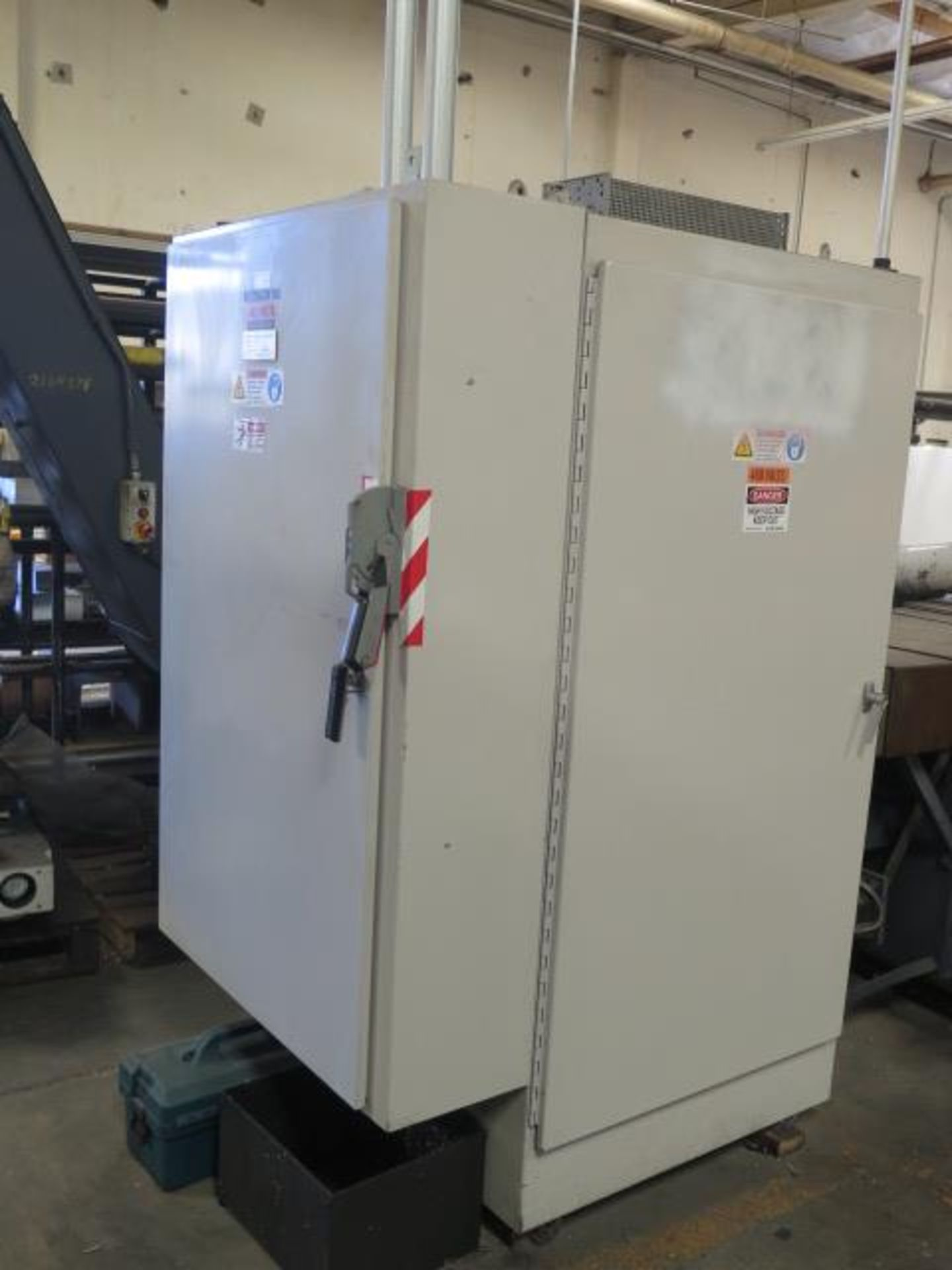 Laker-Craven-100 CNC Deep Hole Drilling Machine s/n 1241 w/ Fanuc Power MATE Controls, SOLD AS IS - Image 17 of 41
