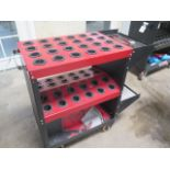 Huot Toolscoot 40-Taper Tooling Cart (SOLD AS-IS - NO WARRANTY)