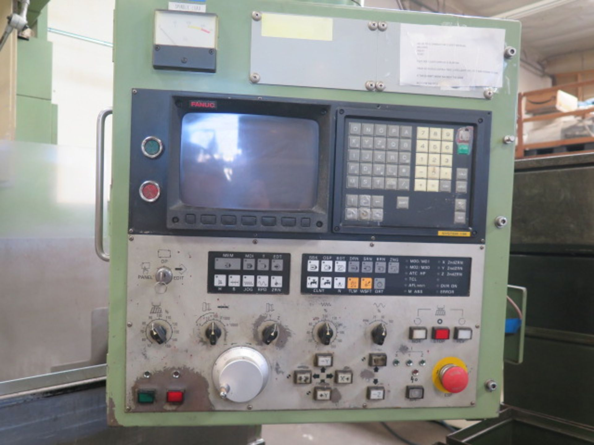 Mori Seiki MV-55 CNC Vertical Machining Center s/n 576 w/ Fanuc System 11M Controls, 24-Station ATC, - Image 4 of 13
