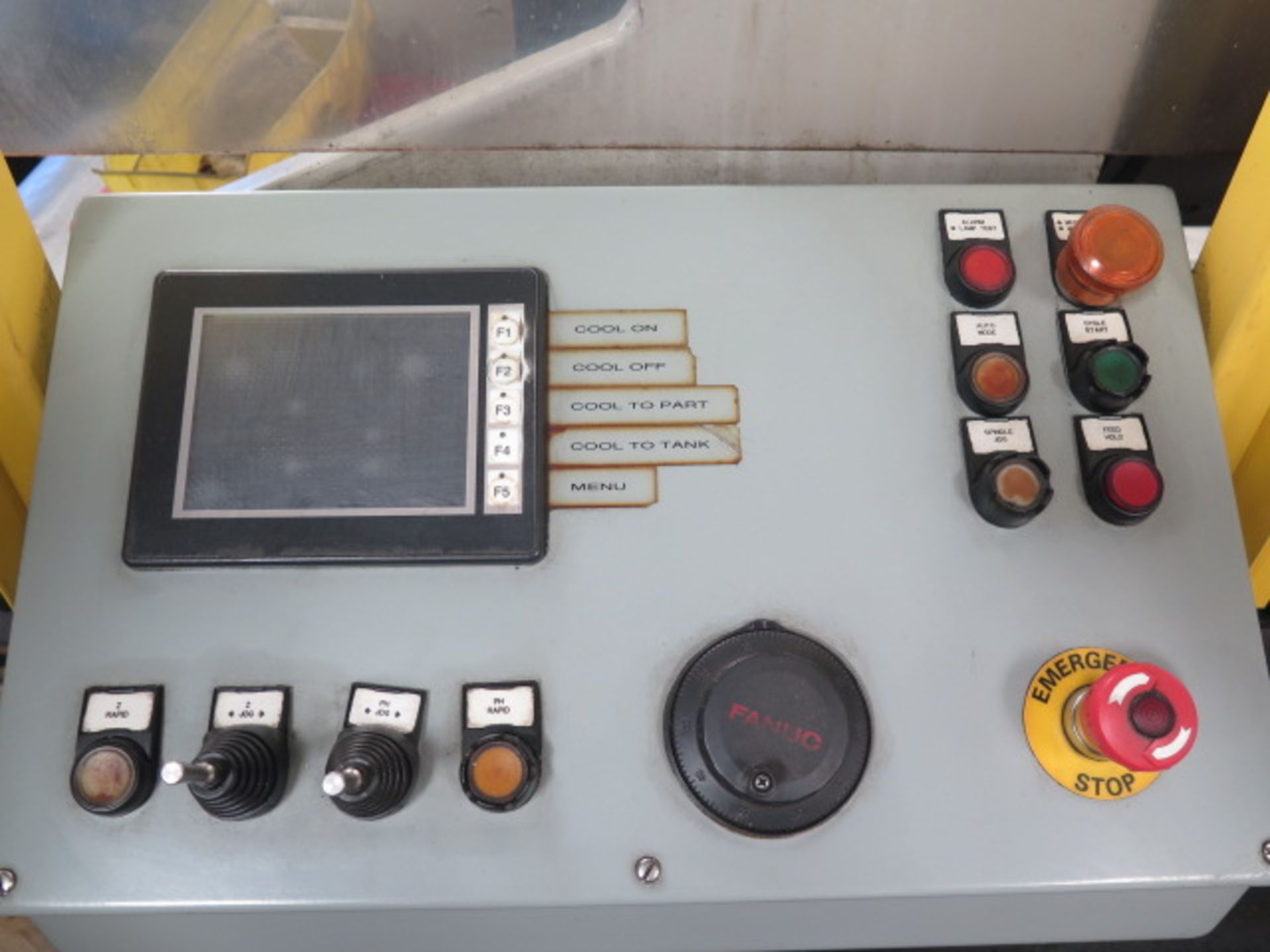 Laker-Craven-100 CNC Deep Hole Drilling Machine s/n 1241 w/ Fanuc Power MATE Controls, SOLD AS IS - Image 7 of 41