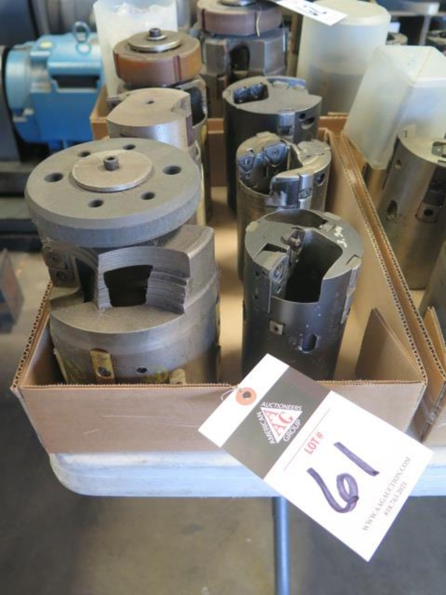 Large Diameter Insert Tube Drills (SOLD AS-IS - NO WARRANTY)