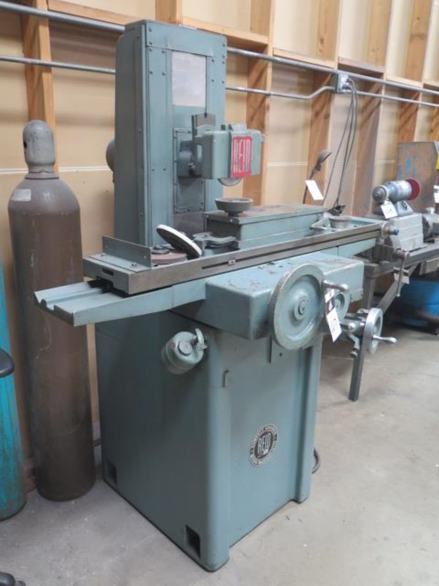 """Reid 618HA 6"""" x 18"""" Surface Grinder s/n 14554 w/ Magnetic Chuck (SOLD AS-IS - NO WARRANTY) - Image 3 of 9"""