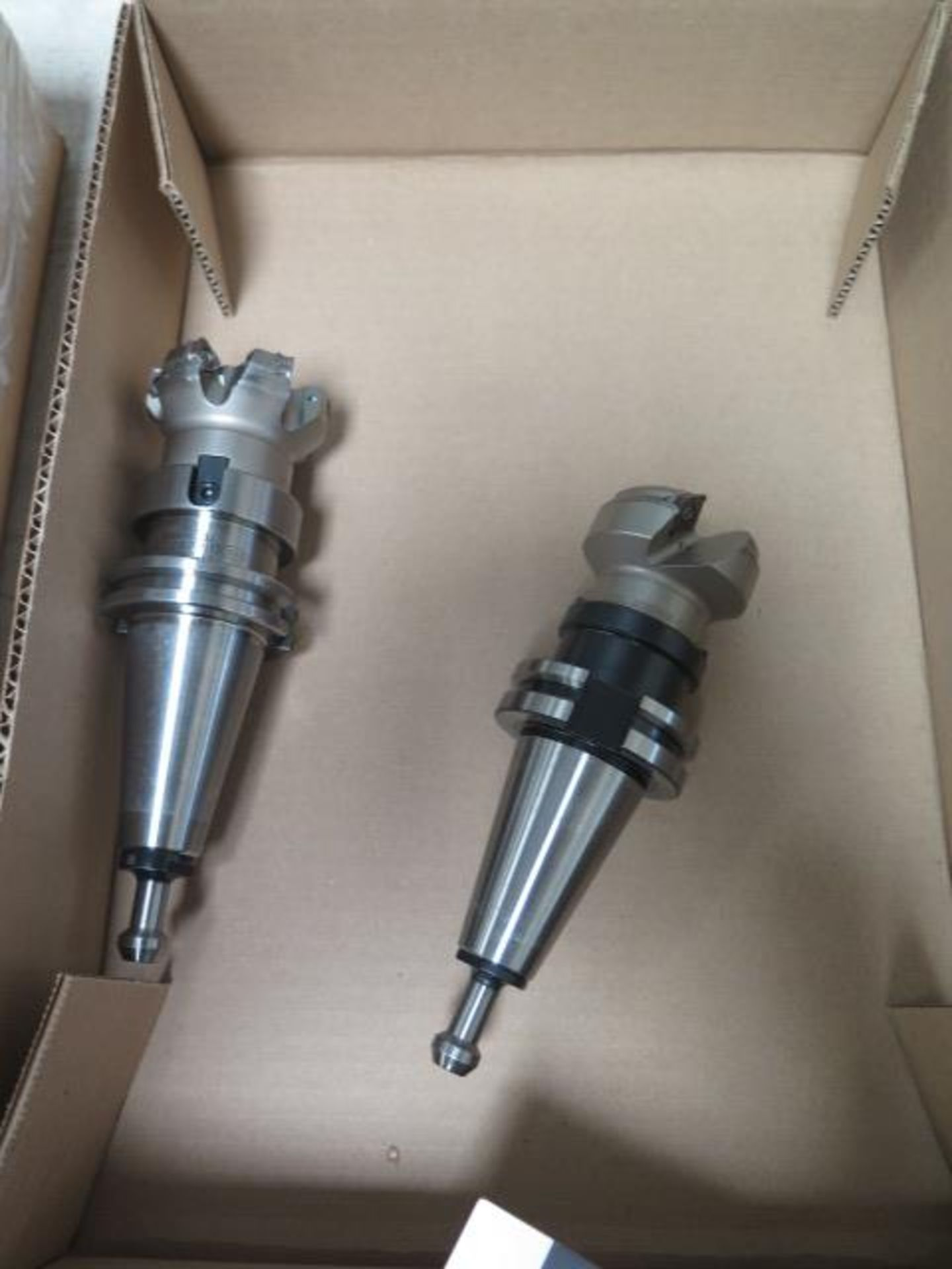 CAT-40 Taper Insert Shell Mills (2) (SOLD AS-IS - NO WARRANTY) - Image 2 of 4