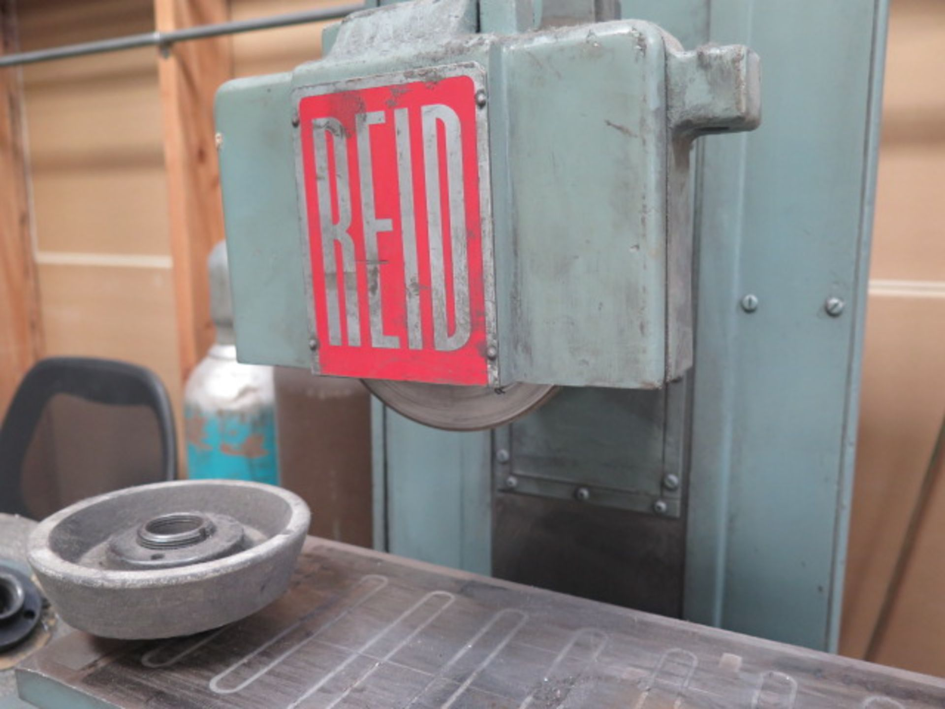 """Reid 618HA 6"""" x 18"""" Surface Grinder s/n 14554 w/ Magnetic Chuck (SOLD AS-IS - NO WARRANTY) - Image 7 of 9"""