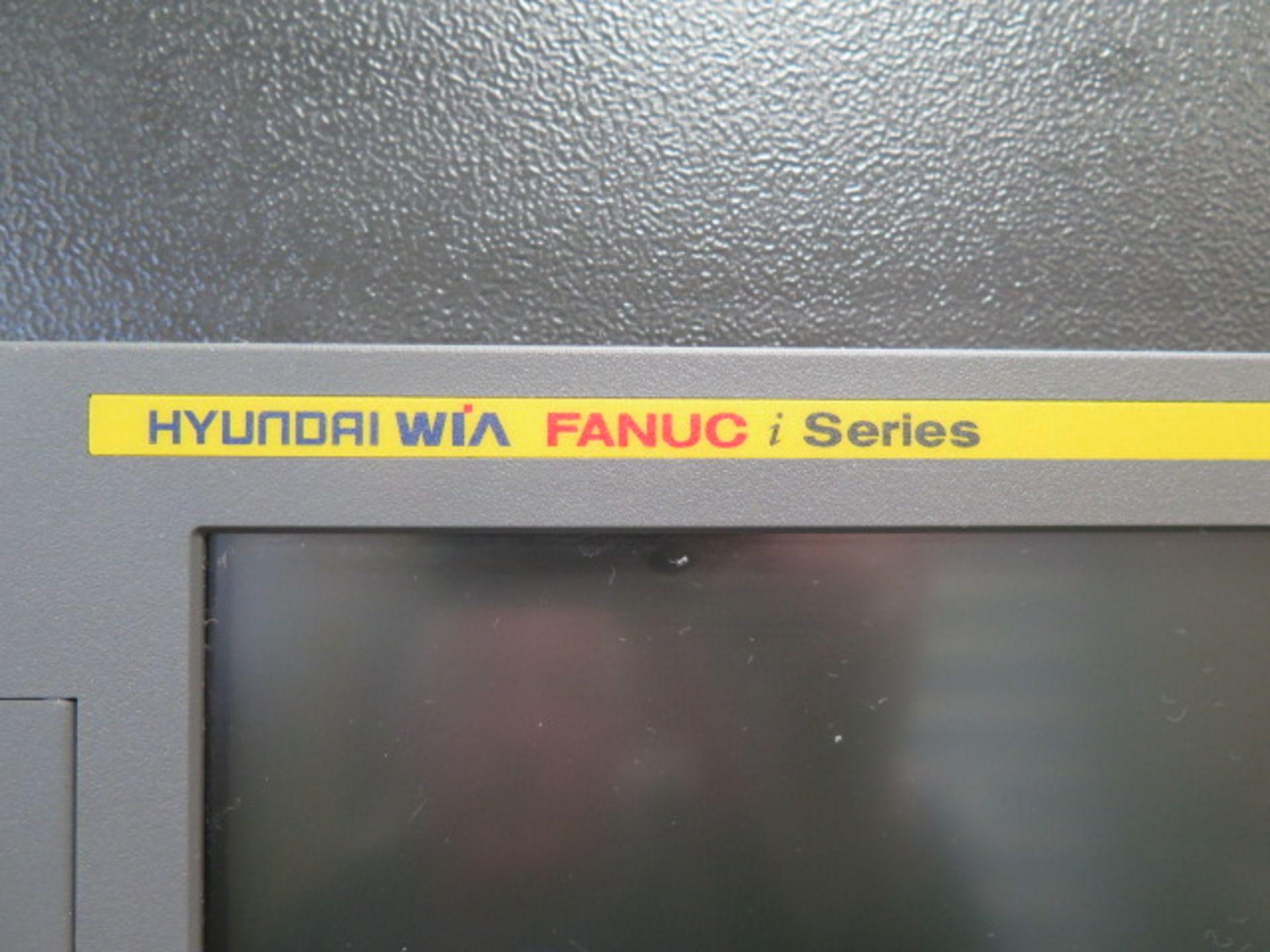2017 Hyundai WIA KF5600 CNC VMC s/n G2689-0086 w/ Hyundai WIA Fanuc i-Series, SOLD AS IS - Image 7 of 22