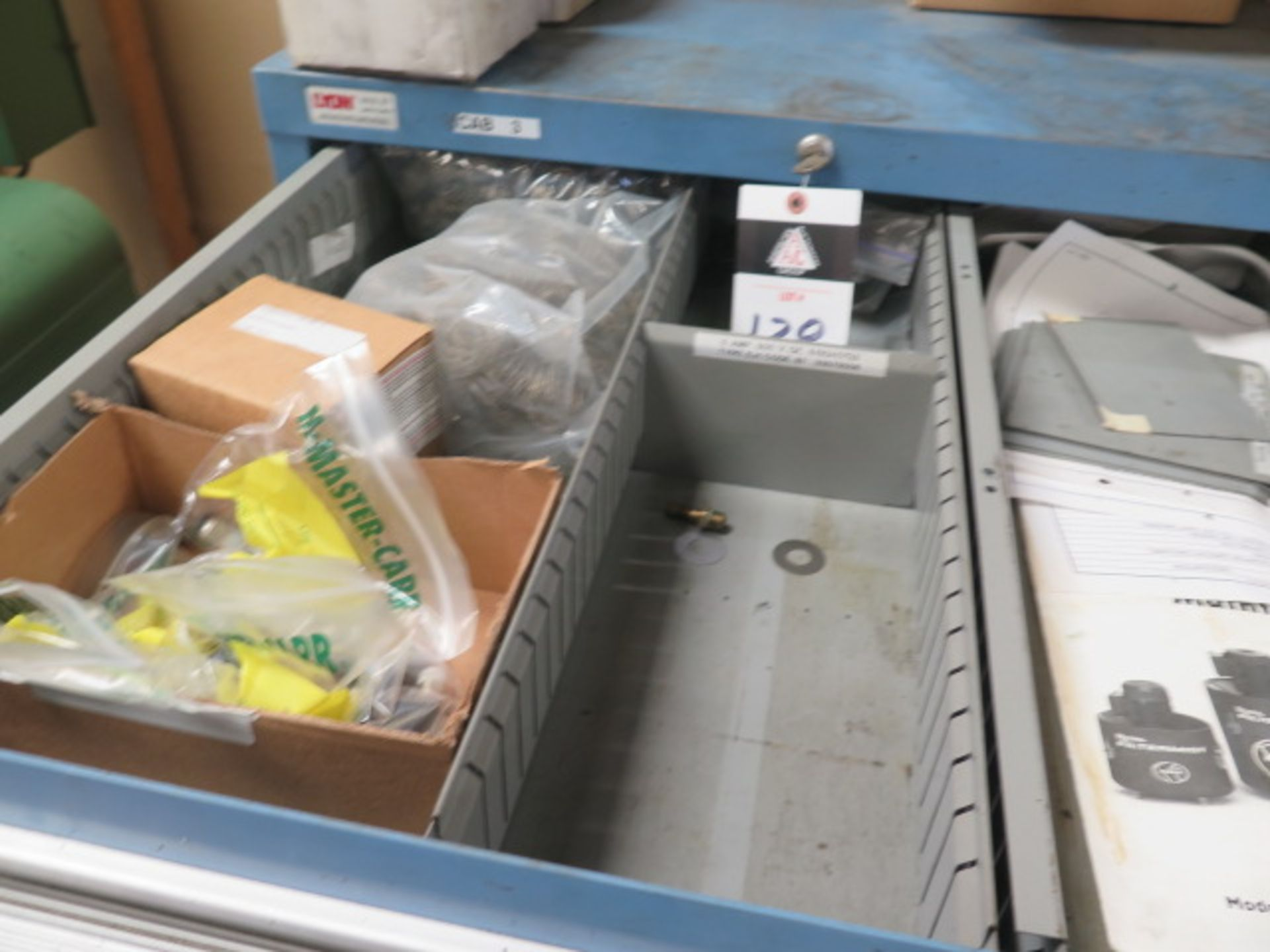 Lyon 8-Drawer Tooling Cabinet w/ Misc (SOLD AS-IS - NO WARRANTY) - Image 3 of 10
