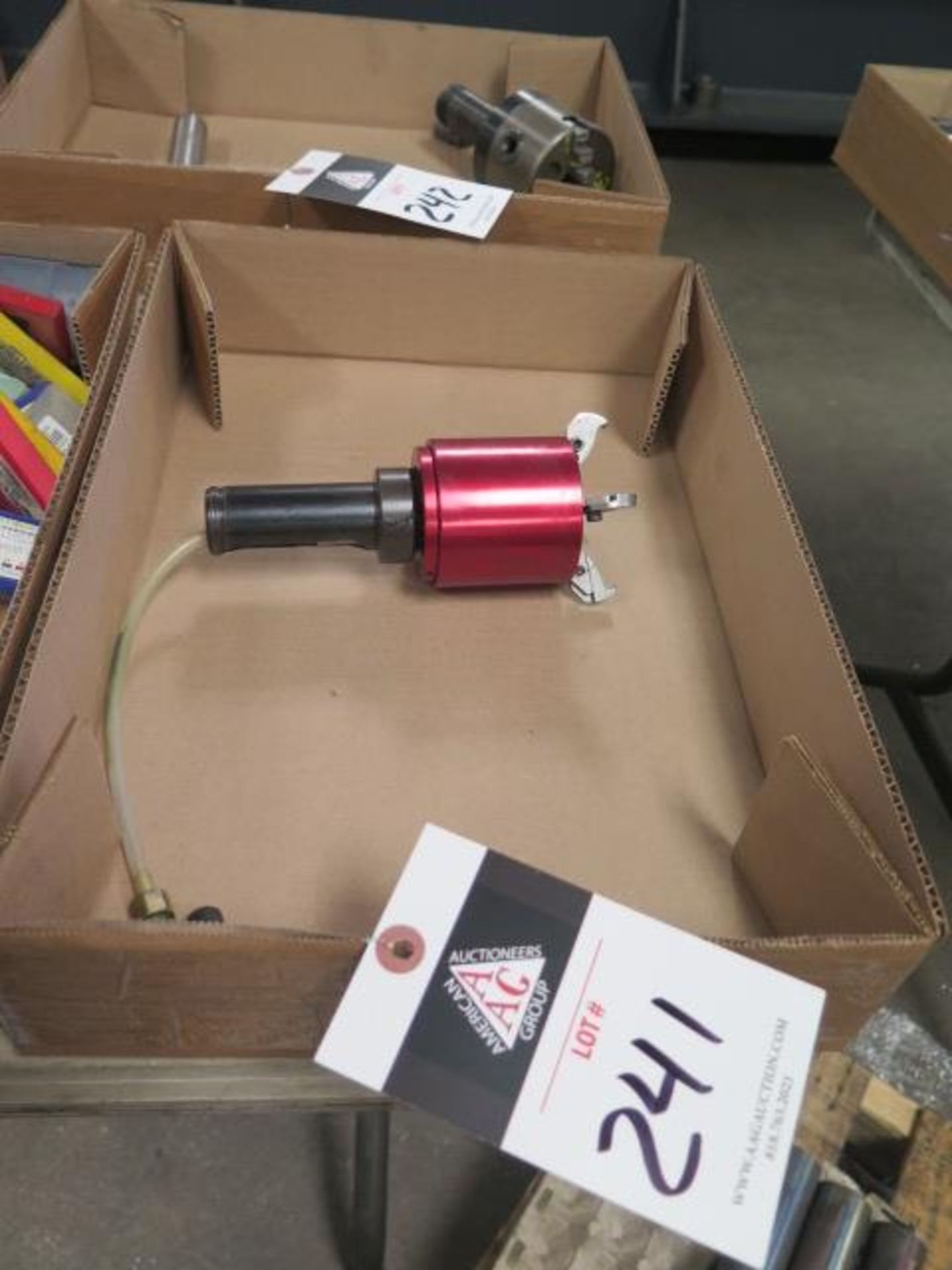 Coolant Actuated Bar Puller (SOLD AS-IS - NO WARRANTY)