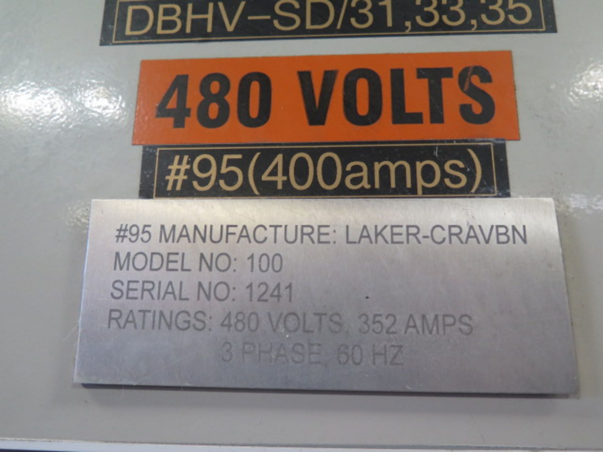 Laker-Craven-100 CNC Deep Hole Drilling Machine s/n 1241 w/ Fanuc Power MATE Controls, SOLD AS IS - Image 28 of 41