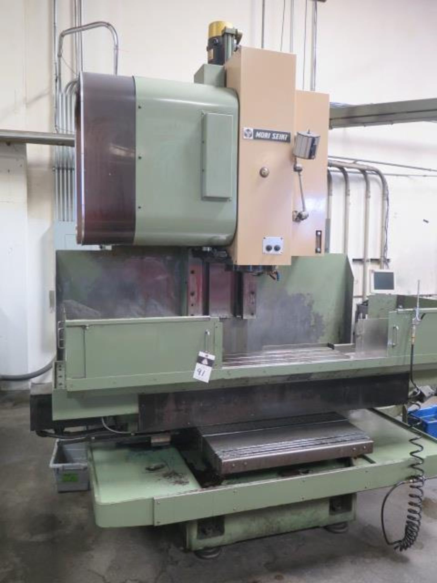 Mori Seiki MV-45/40 CNC VMC s/n 467 w/ Fanuc System 6M Controls, 20 ATC, SOLD AS IS - Image 2 of 14