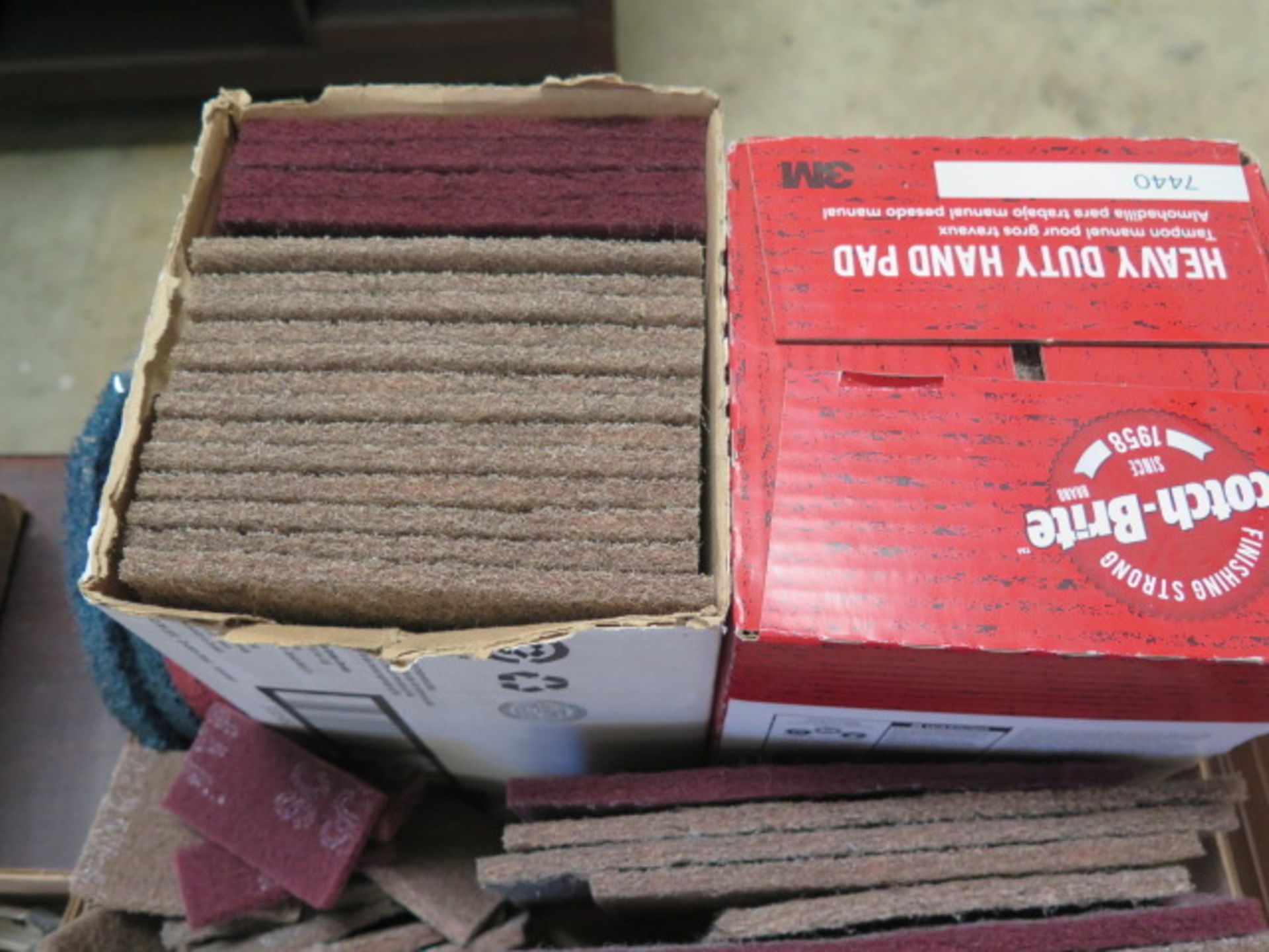 ScotchBrite Pads and Sand Paper (SOLD AS-IS - NO WARRANTY) - Image 2 of 4