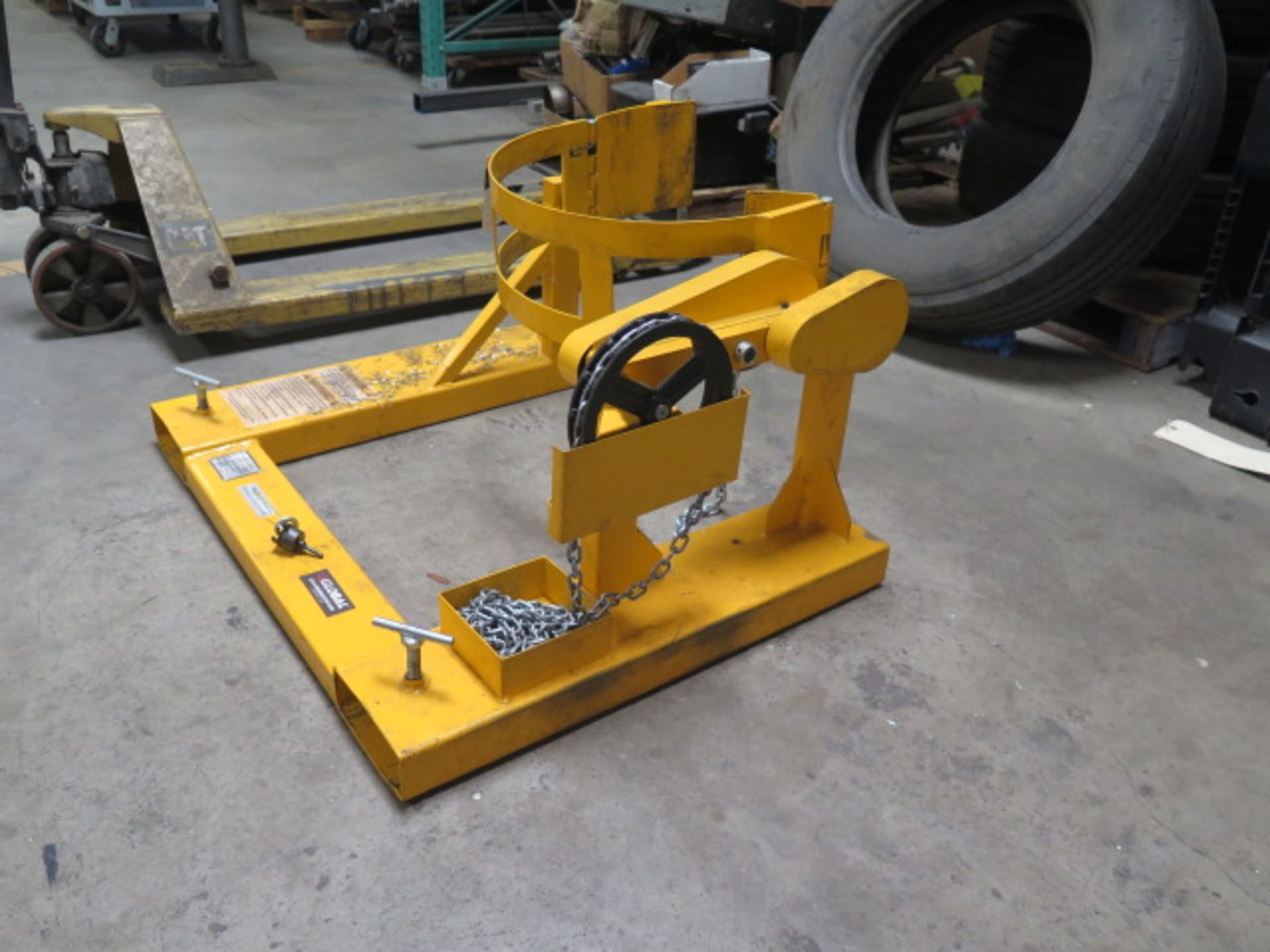 Global Barrel Turner Forklift Attachment (SOLD AS-IS - NO WARRANTY) - Image 2 of 5