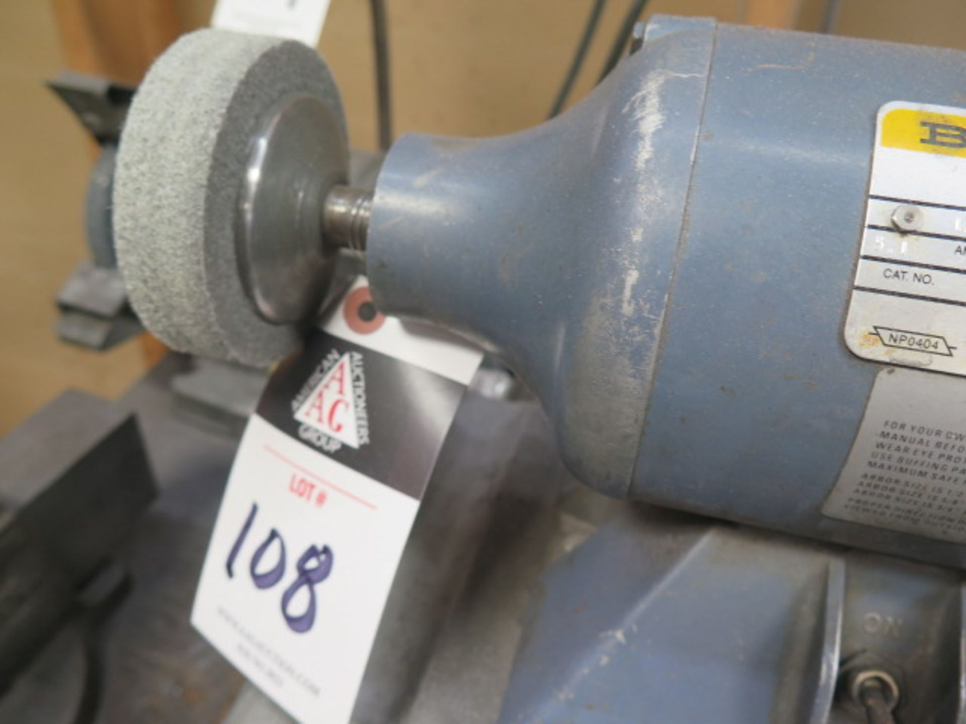 Baldor Bench Buffer (SOLD AS-IS - NO WARRANTY) - Image 4 of 4