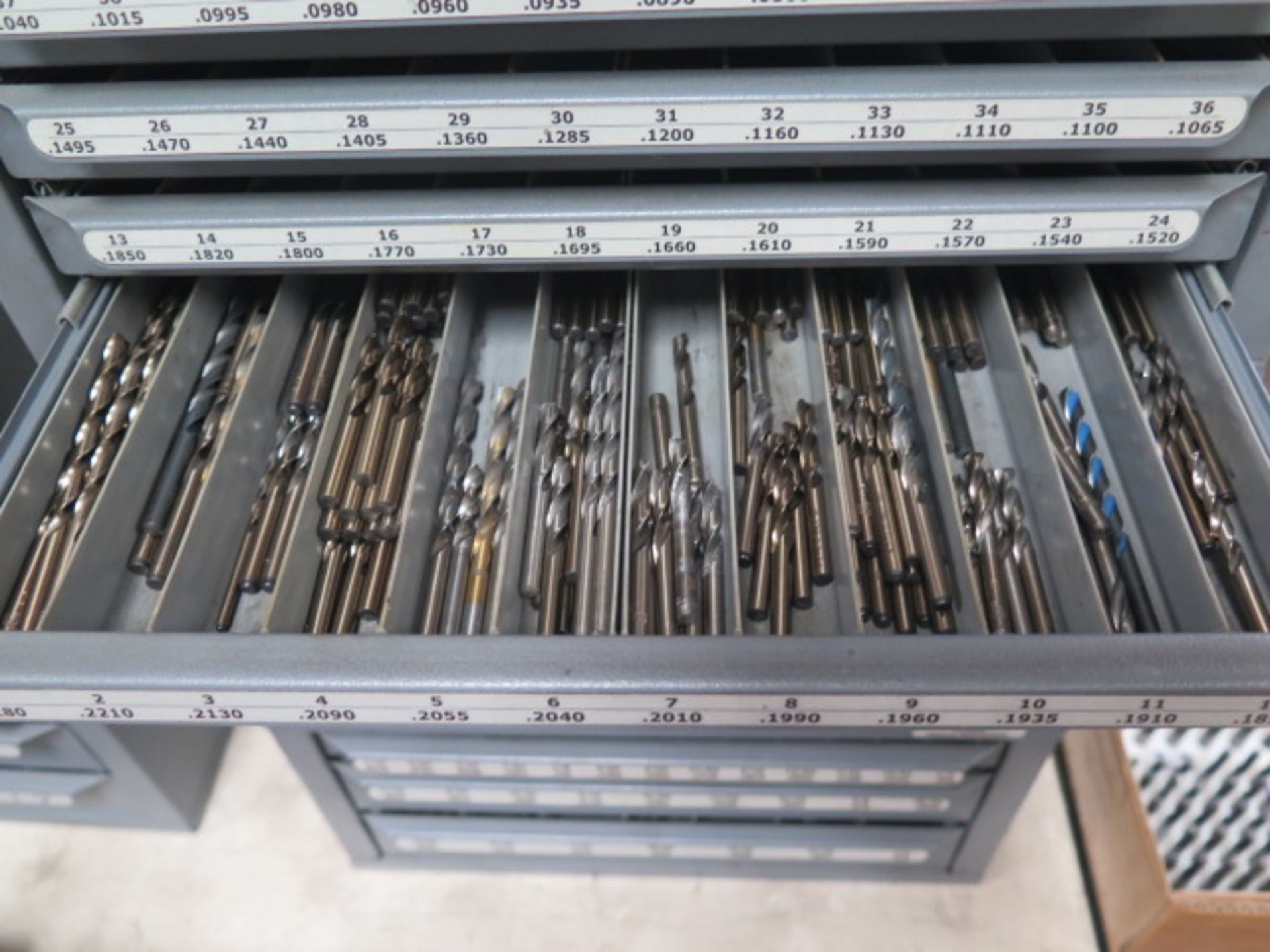 Huot Drill Cabinets (3) w/ Drills (SOLD AS-IS - NO WARRANTY) - Image 11 of 15