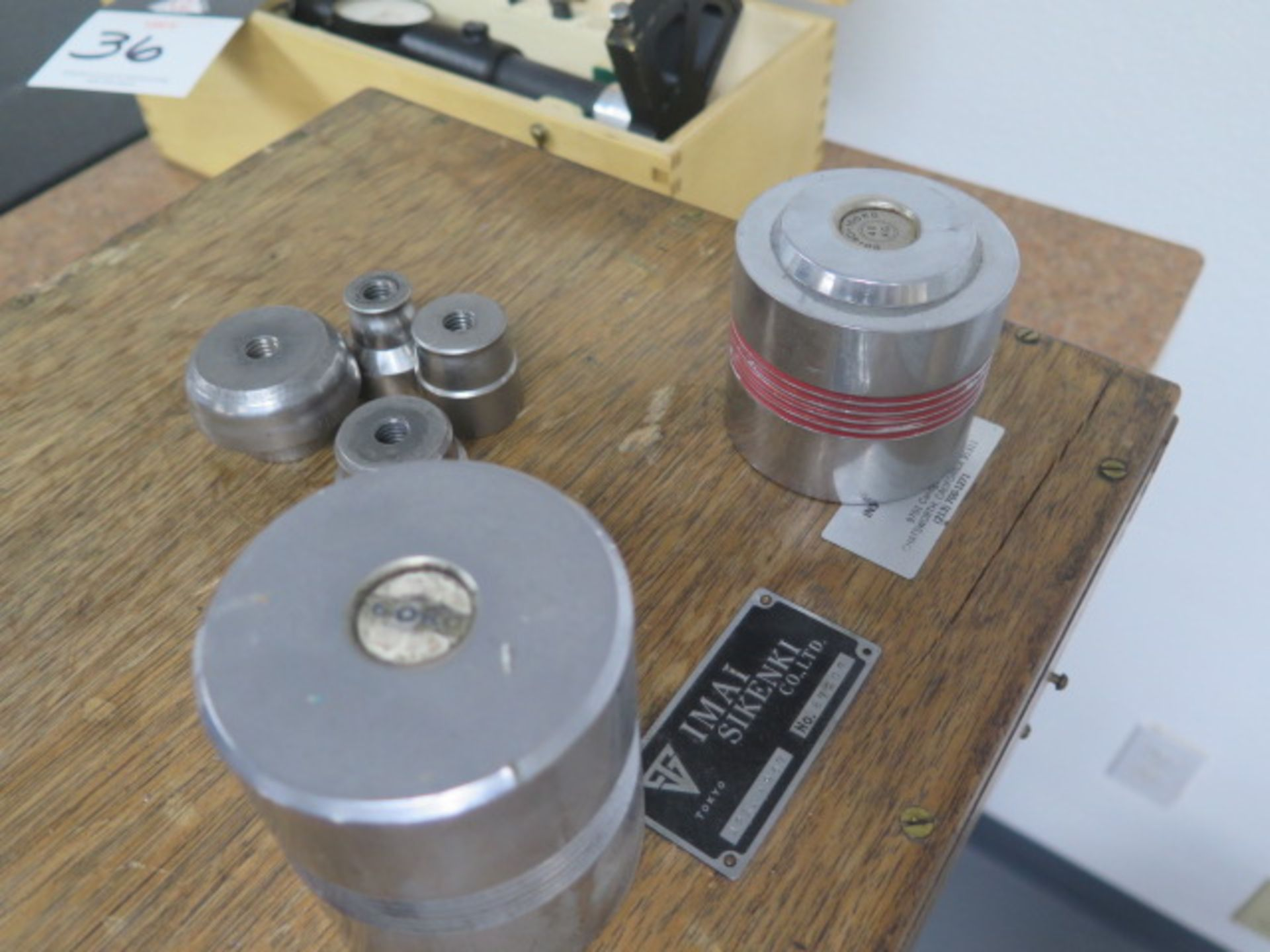 Rockwell Hardness Tester w/ Accessories (SOLD AS-IS - NO WARRANTY) - Image 8 of 9