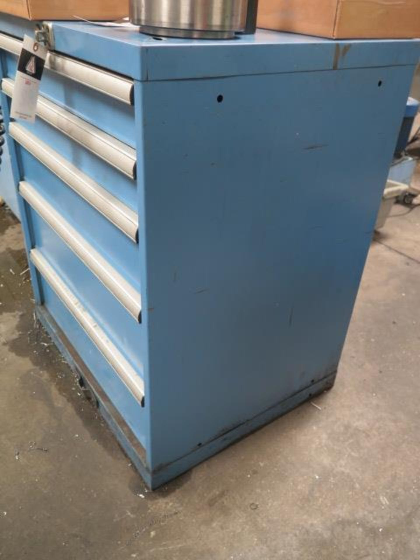 Lista 5-Drawer Tooling Cabinet w/ Chuck Jaws (SOLD AS-IS - NO WARRANTY) - Image 2 of 8