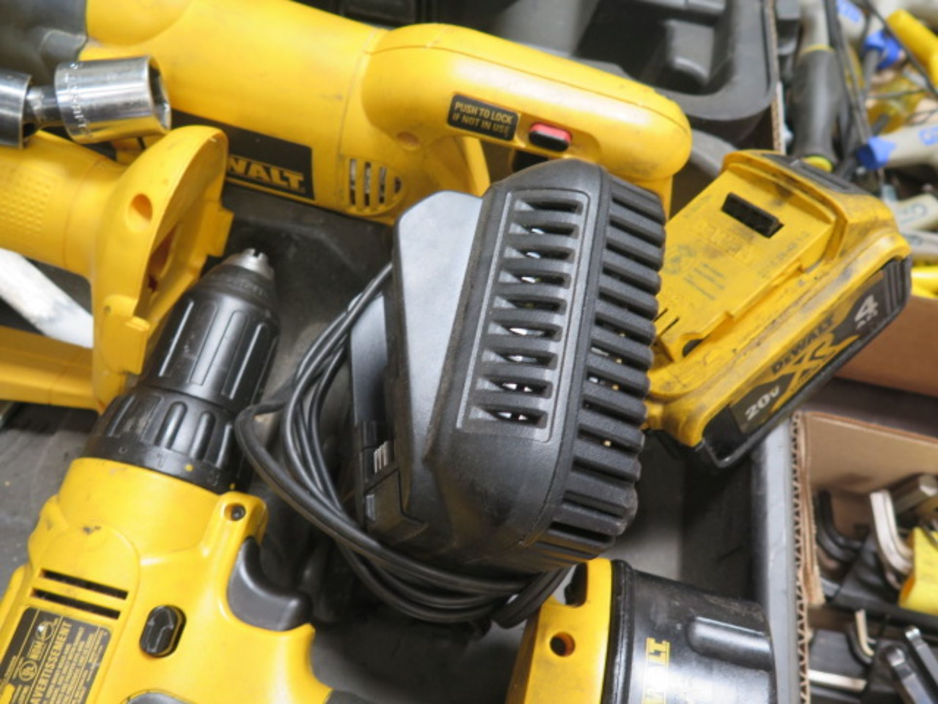 DeWalt Cordless Tools w/ Charger (SOLD AS-IS - NO WARRANTY) - Image 9 of 9