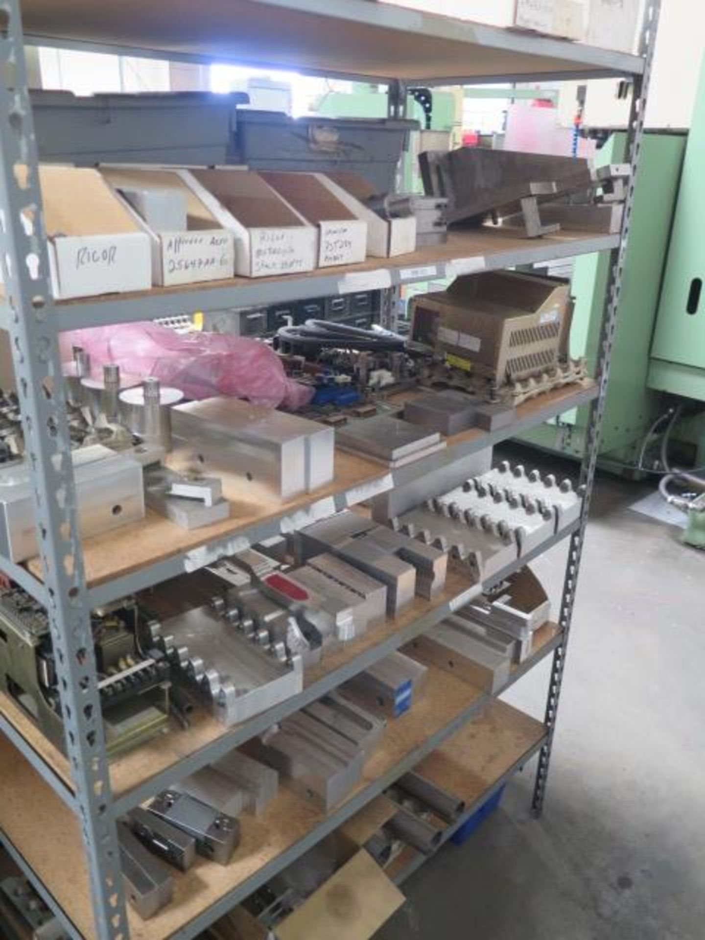Vise Jaws, Fixtures and Misc w/ (7) Shelves (SOLD AS-IS - NO WARRANTY) - Image 5 of 6