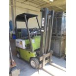 "Clark 2000 Lb Cap LPG Forklift w/ 2-Stage 130"" Lift Height, (Condition Unknown), SOLD AS IS"