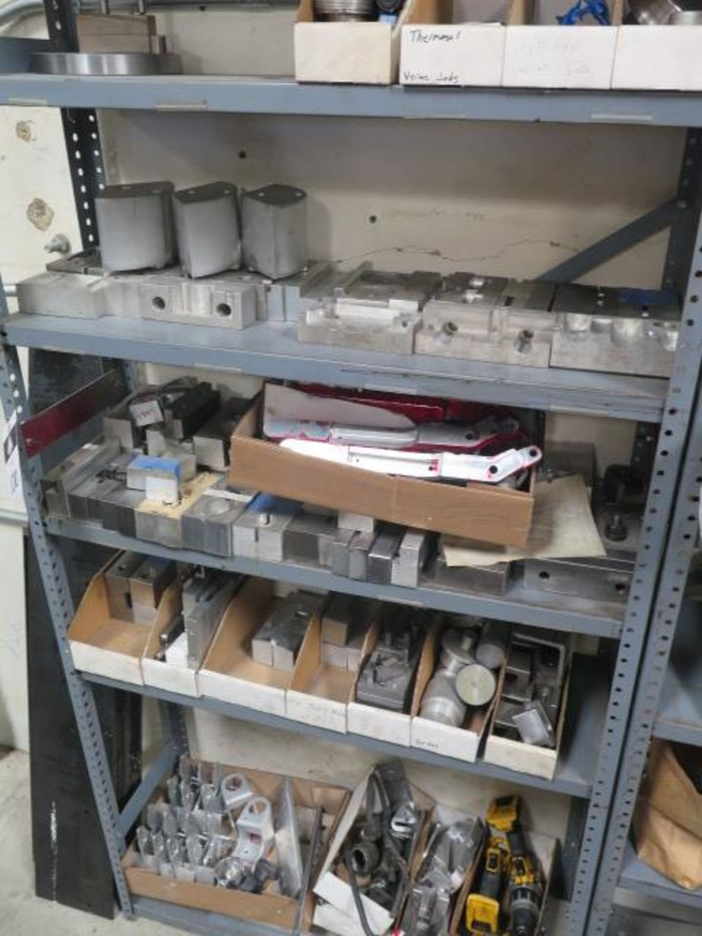 Vise Jaws, Fixtures and Misc w/ (7) Shelves (SOLD AS-IS - NO WARRANTY) - Image 3 of 6