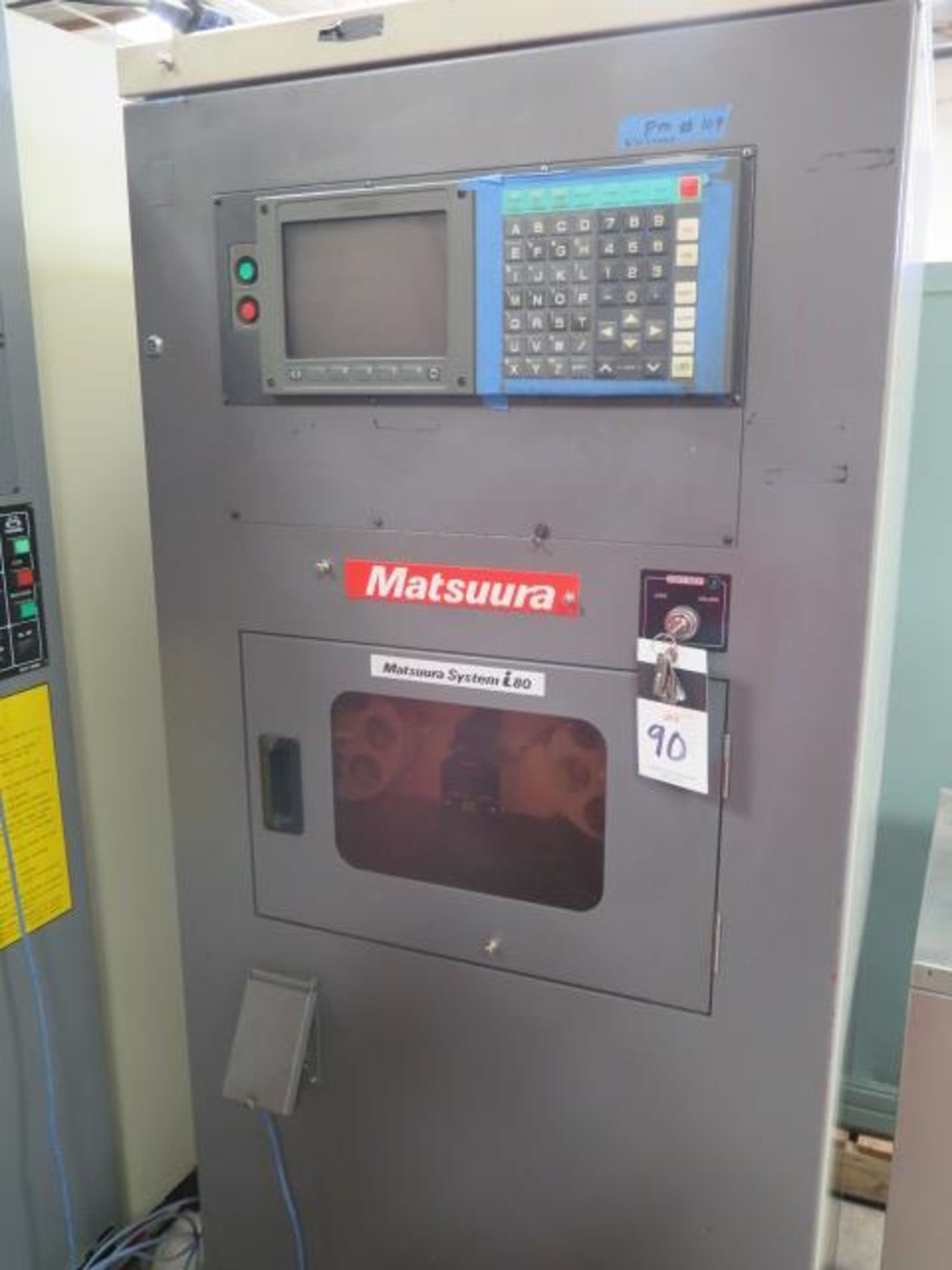 1992 Matsuura MC-450H-30-PC II 10-Pallet CNC Horizontal Machining Center s/n 910609609, SOLD AS IS - Image 4 of 23