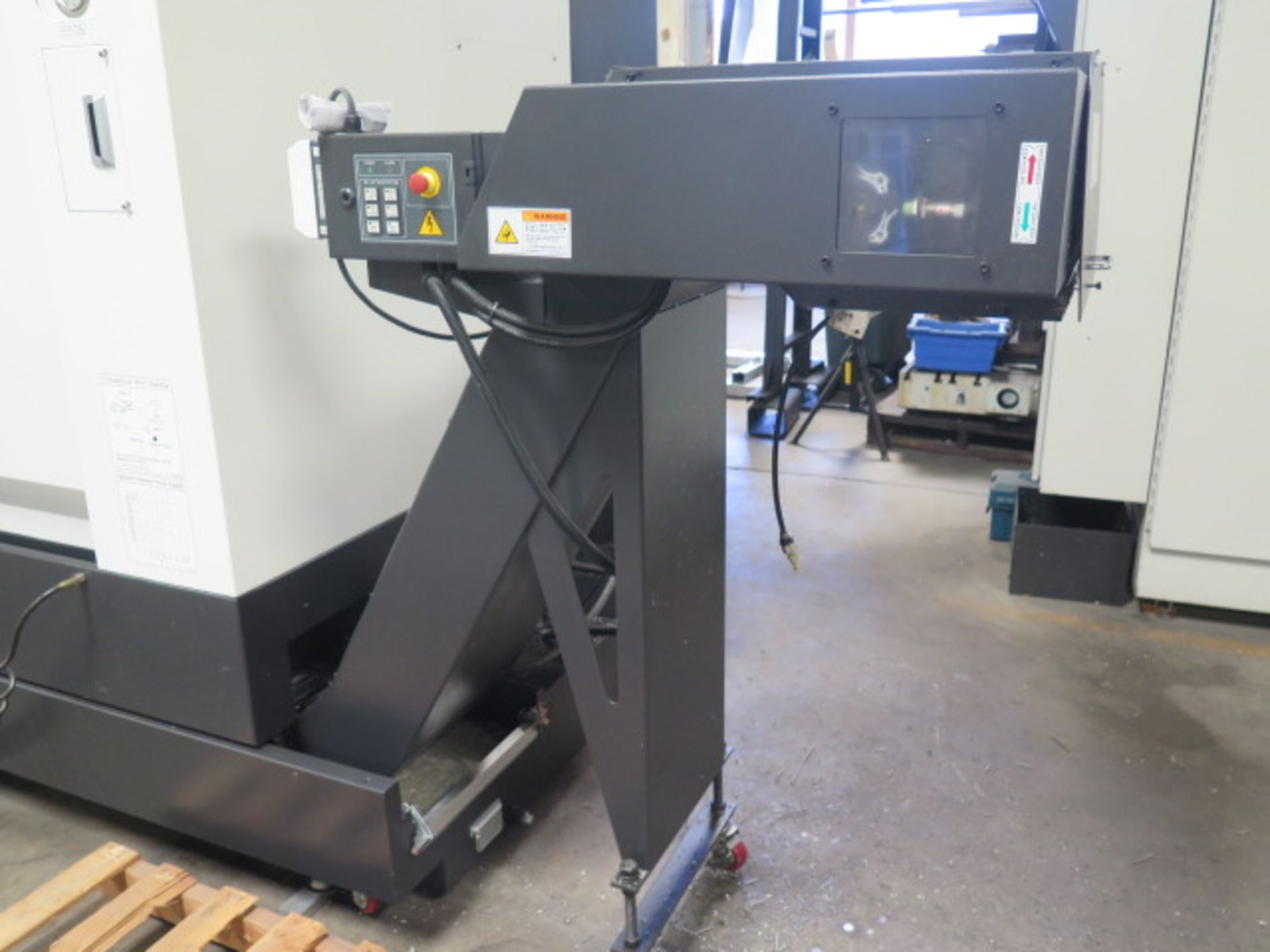 2017 Hyundai WIA L300LA CNC Turning Center s/n G3726-0108 w/ Fanuc i-Series Controls, SOLD AS IS - Image 13 of 18