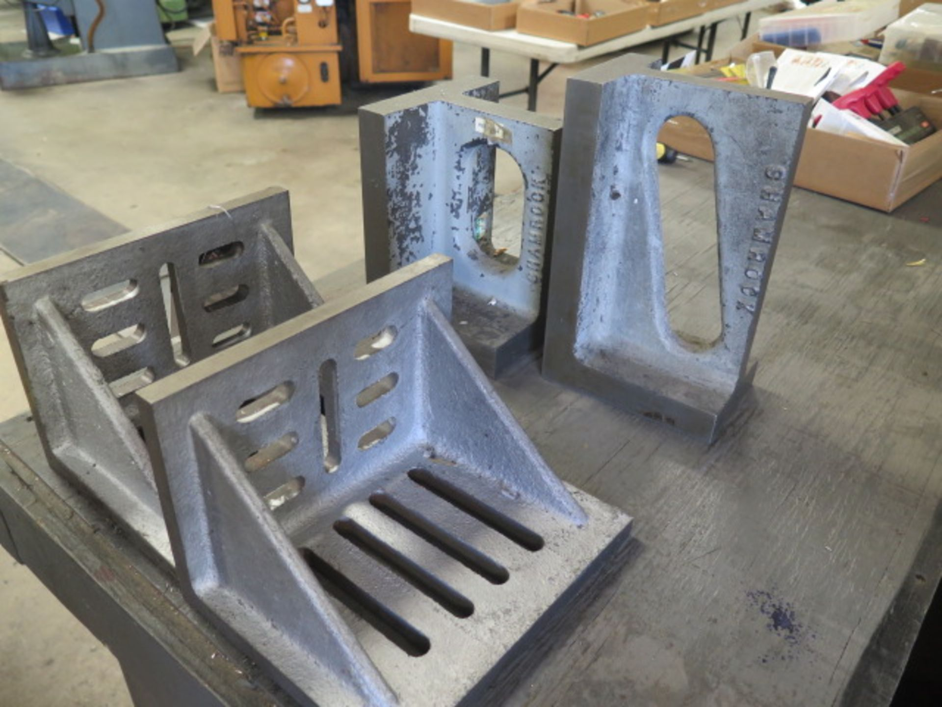 Angle Plates (4) (SOLD AS-IS - NO WARRANTY) - Image 4 of 4