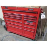 Roll-A-Way Tool Box w/ Misc Tools (SOLD AS-IS - NO WARRANTY)