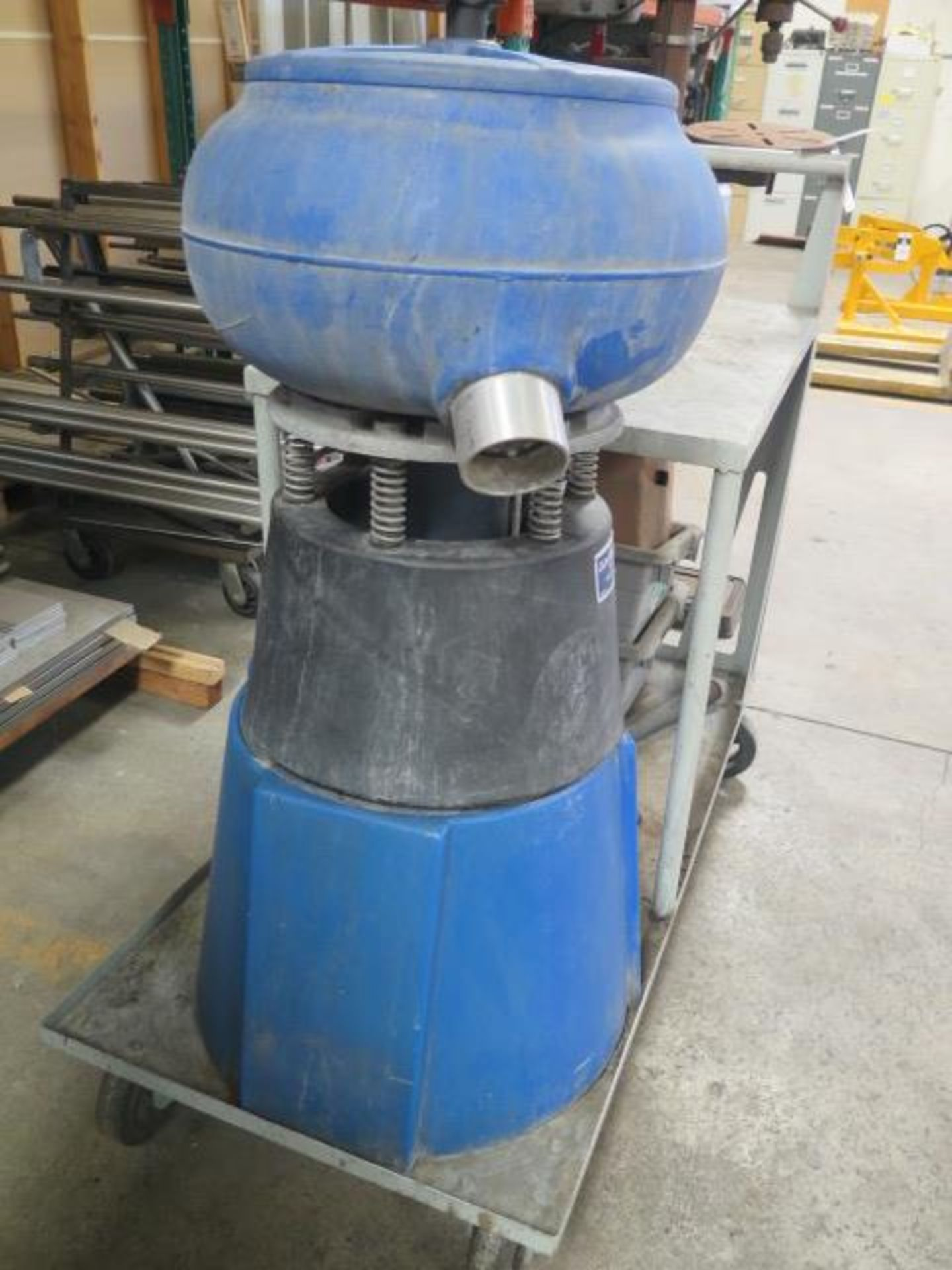 CM Topline Media Tumbler w/ Media and Cart (SOLD AS-IS - NO WARRANTY) - Image 3 of 4