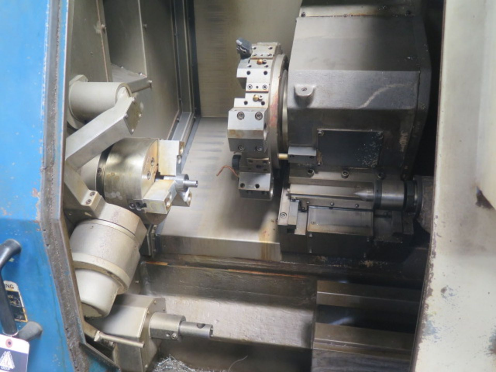 1996 Daewoo PUMA 8S CNC Turning Center s/n PM8S0500 w/ Mits Controls, Tool Presetter, SOLD AS IS - Image 6 of 14