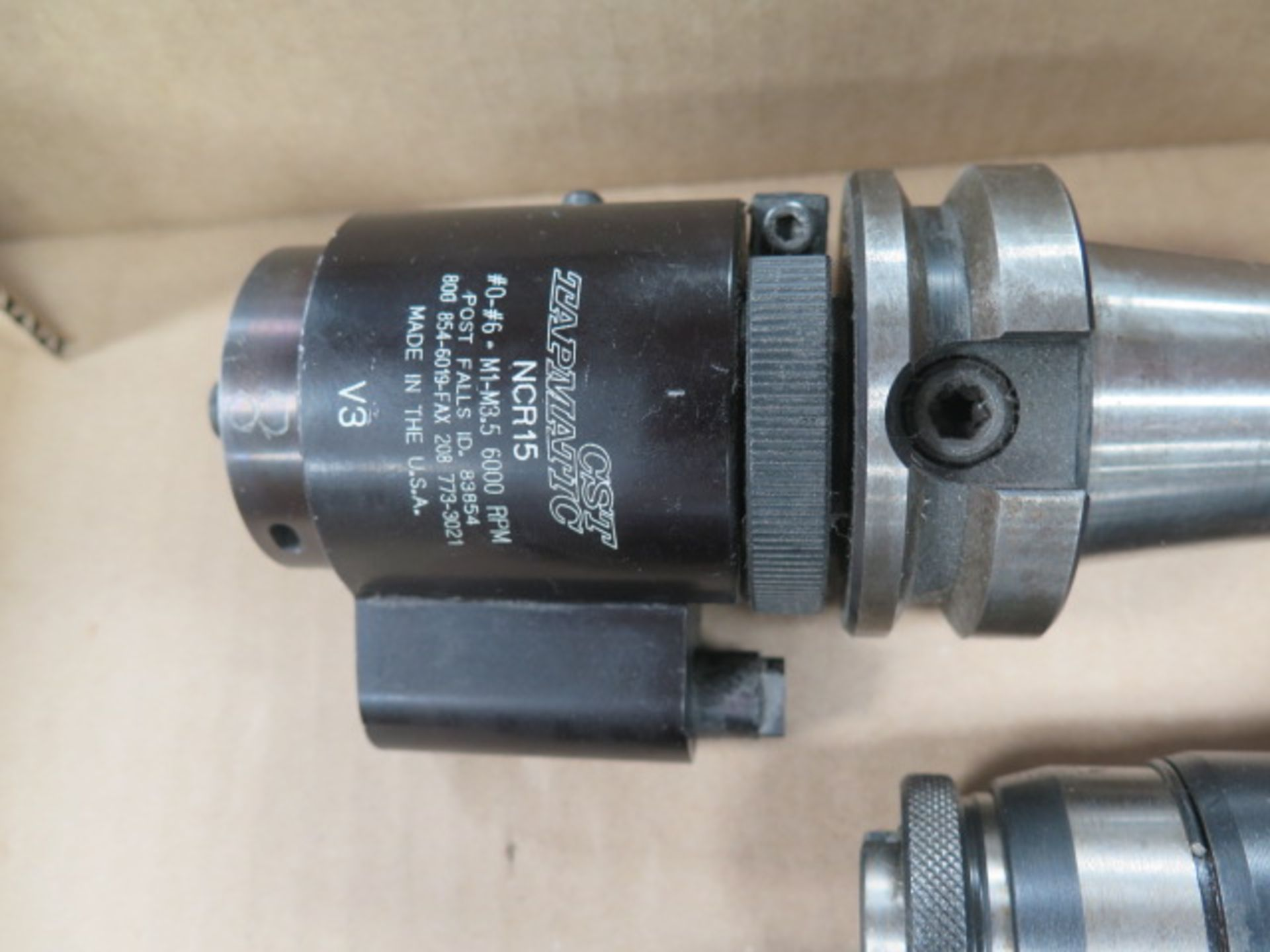 BT-40 Taper Tapmatic Tapping Heads (2) and CNC Tapping Head (SOLD AS-IS - NO WARRANTY) - Image 3 of 5