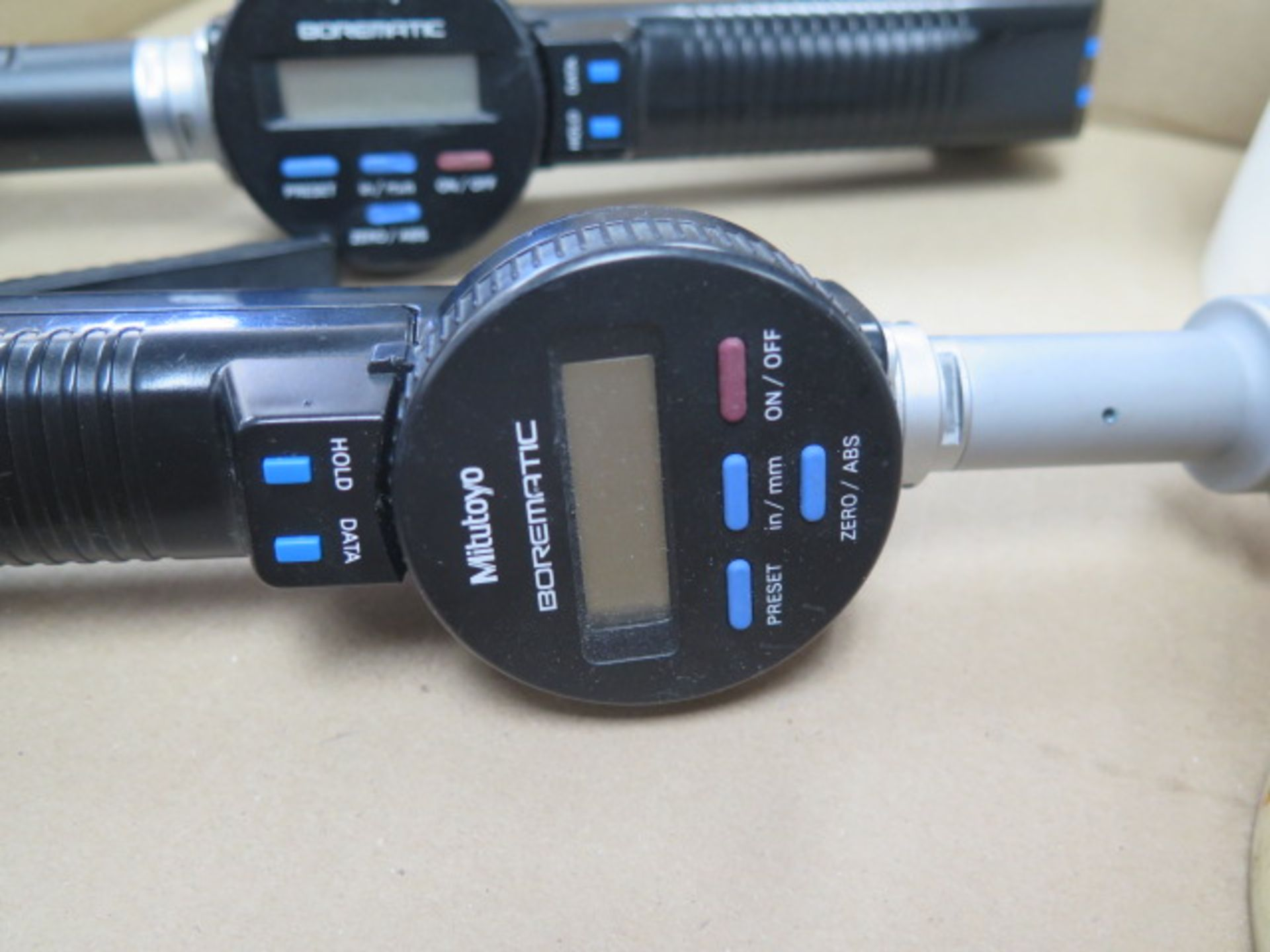 """Mitutoyo 1.6""""-2.0"""" and 1.2""""-1.6"""" Digital Bore Mics w/ Standards (SOLD AS-IS - NO WARRANTY) - Image 6 of 9"""