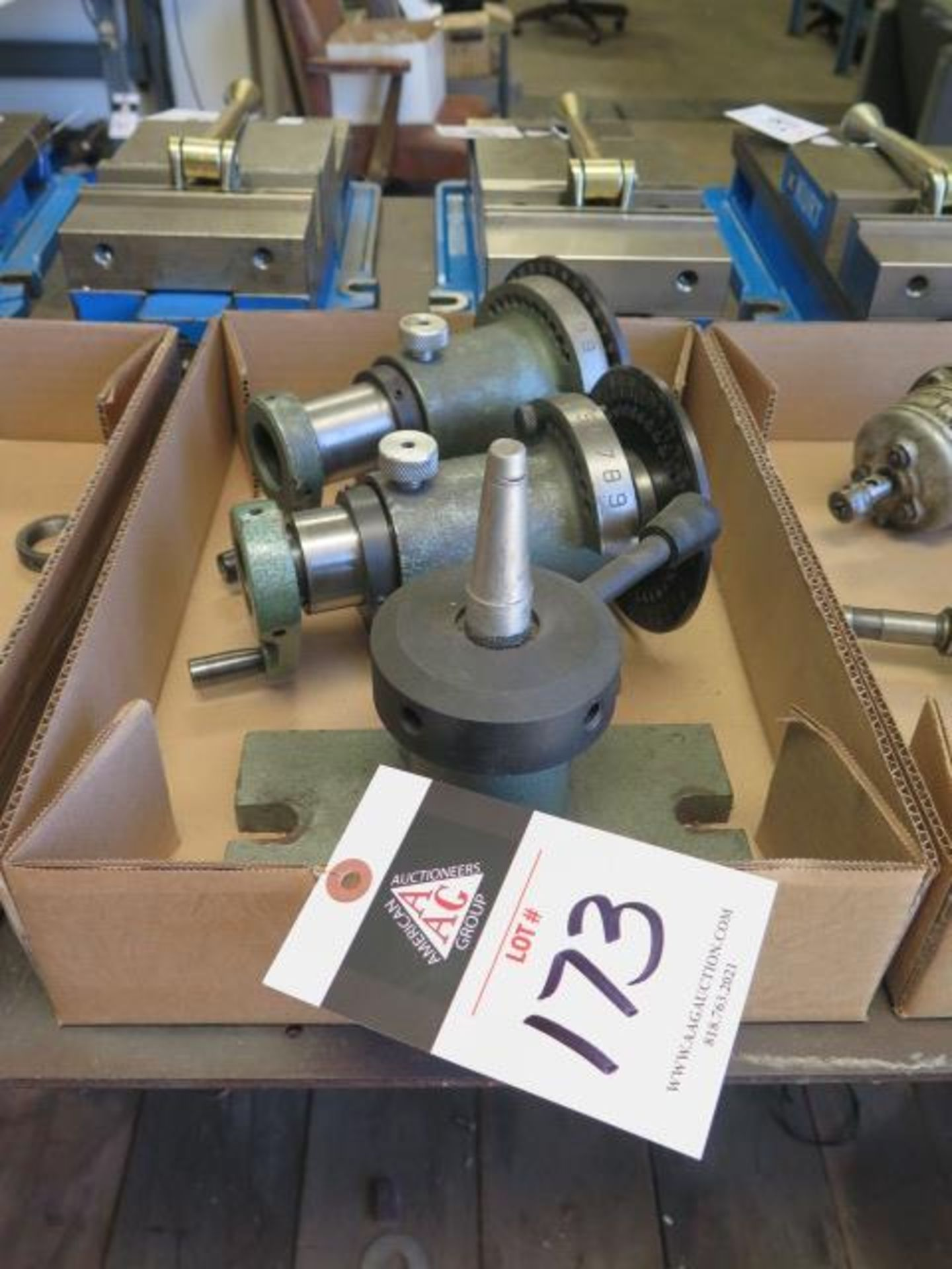 5C Spin Fixture and 5C Collet Closer (SOLD AS-IS - NO WARRANTY)