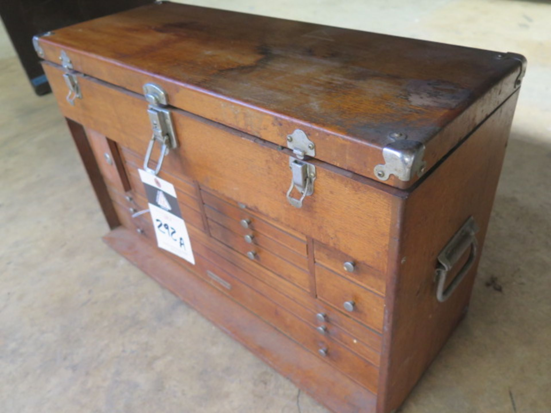 Machinists Tool Box (SOLD AS-IS - NO WARRANTY) - Image 2 of 5