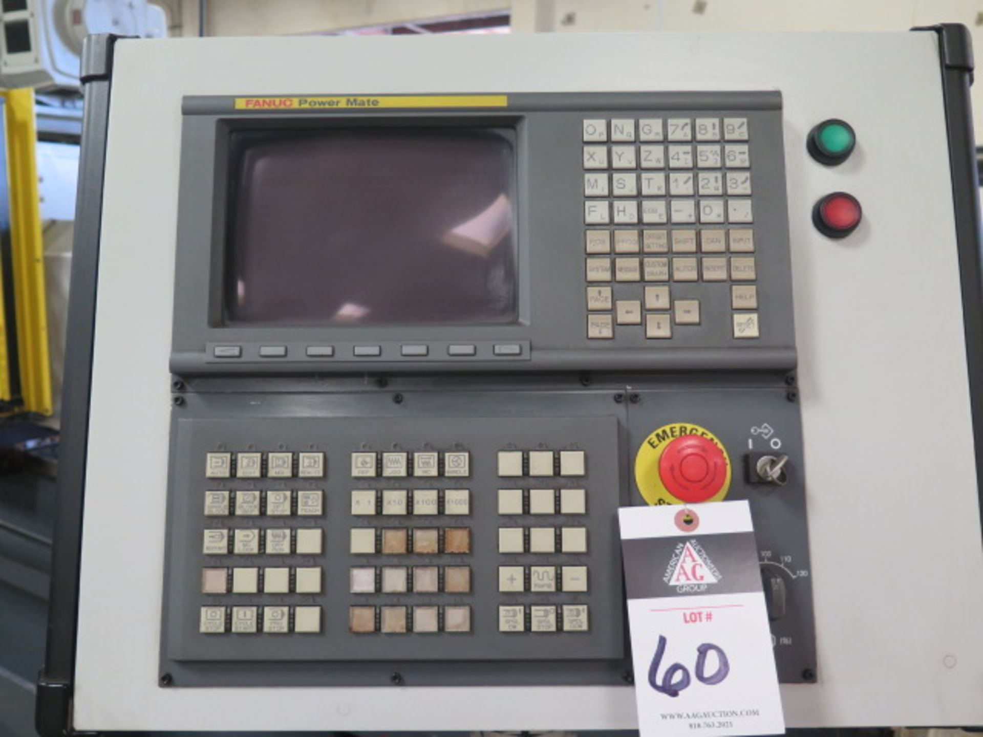 Laker-Craven-100 CNC Deep Hole Drilling Machine s/n 1241 w/ Fanuc Power MATE Controls, SOLD AS IS - Image 5 of 41