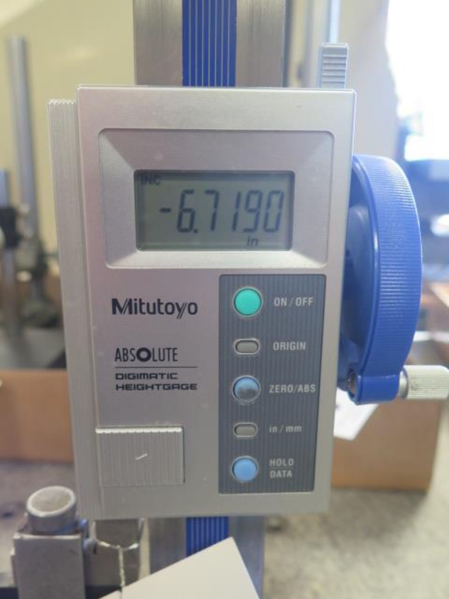 """Mitutoyo 12"""" Digital Height Gage (SOLD AS-IS - NO WARRANTY) - Image 2 of 4"""