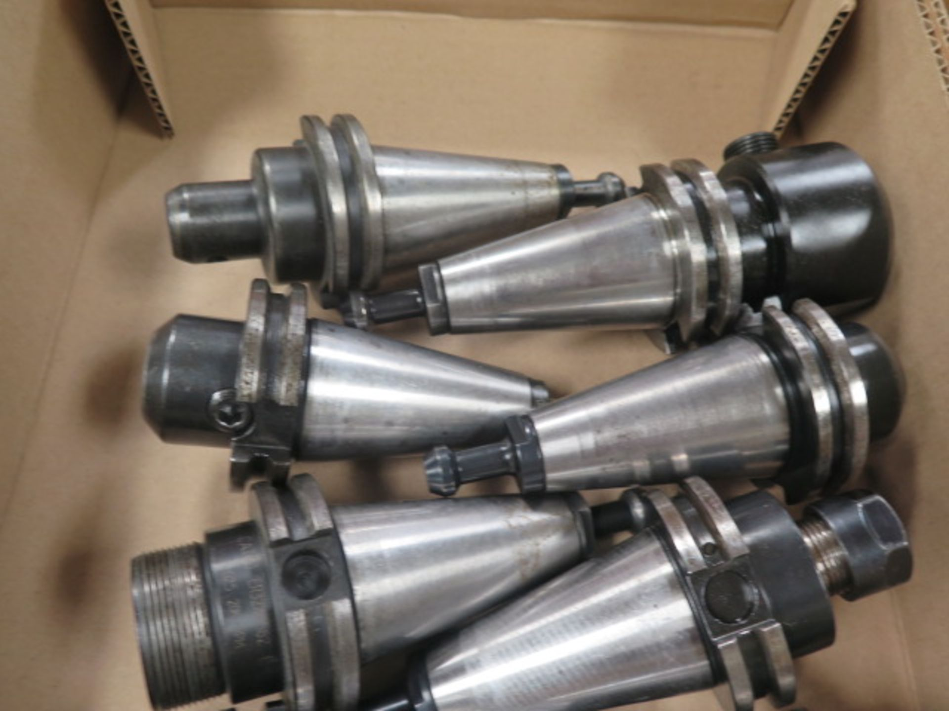 CAT-40 Taper Tooling (10) (SOLD AS-IS - NO WARRANTY) - Image 3 of 4
