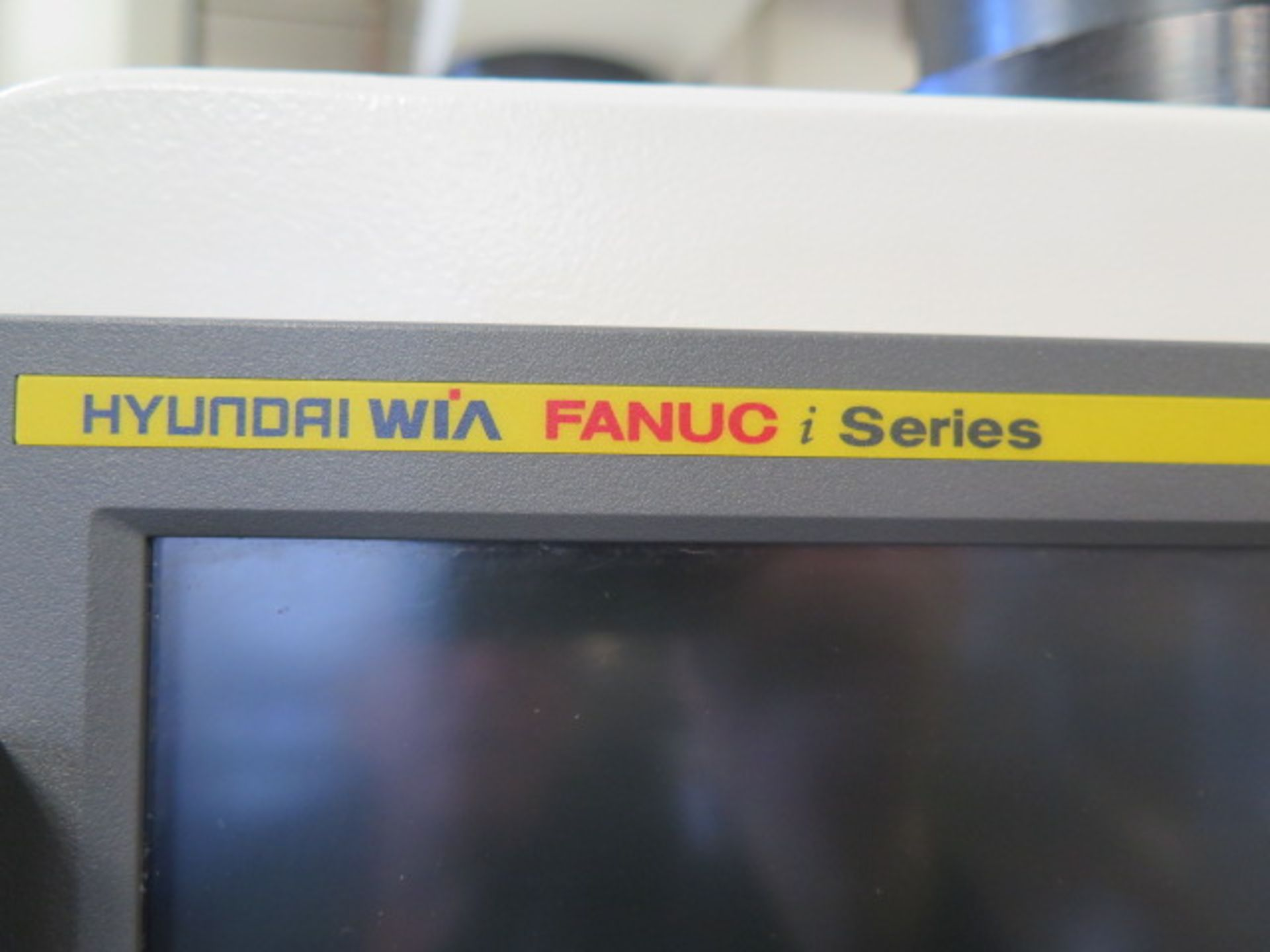 2016 Hyundai WIA F500 CNC VMC s/n G3684-3507 w/ Hyundai WIA Fanuc i-Series, SOLD AS IS NO WARRANTY - Image 7 of 22