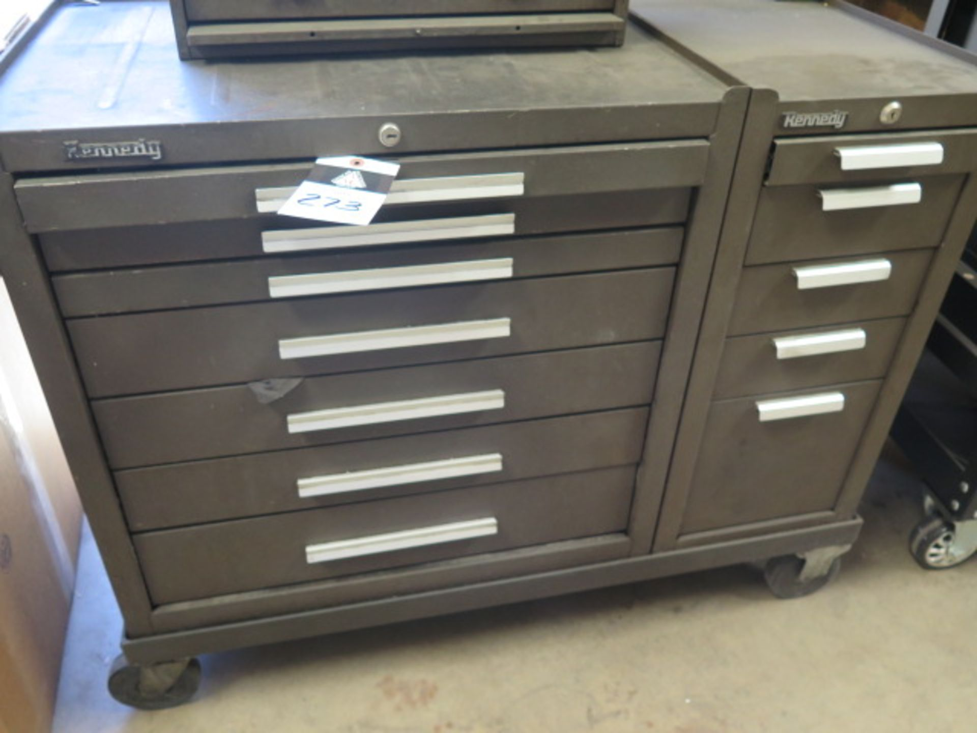 Kannedy Roll-A-Way Tool Box w/ Misc (SOLD AS-IS - NO WARRANTY) - Image 2 of 12