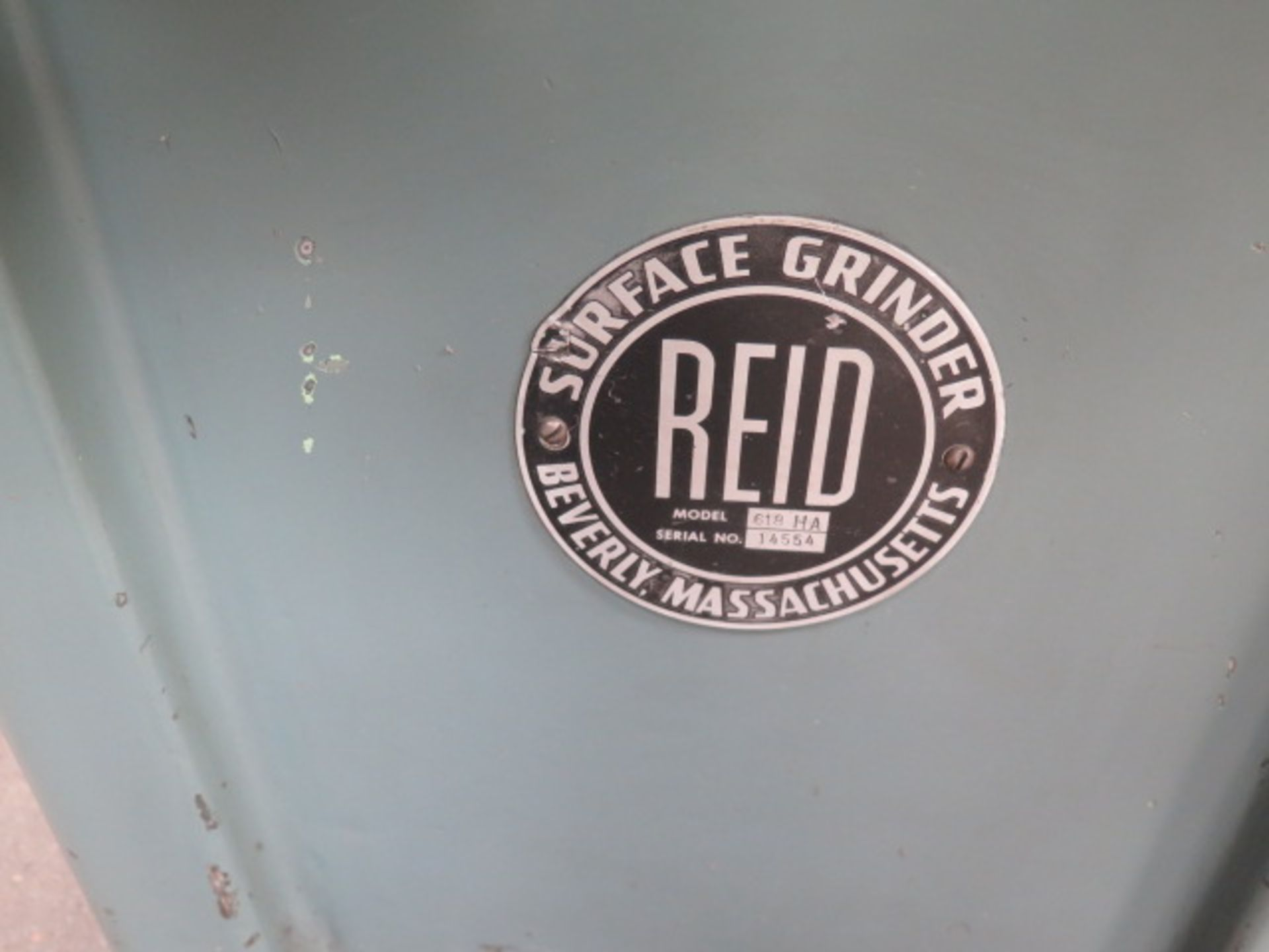 """Reid 618HA 6"""" x 18"""" Surface Grinder s/n 14554 w/ Magnetic Chuck (SOLD AS-IS - NO WARRANTY) - Image 4 of 9"""