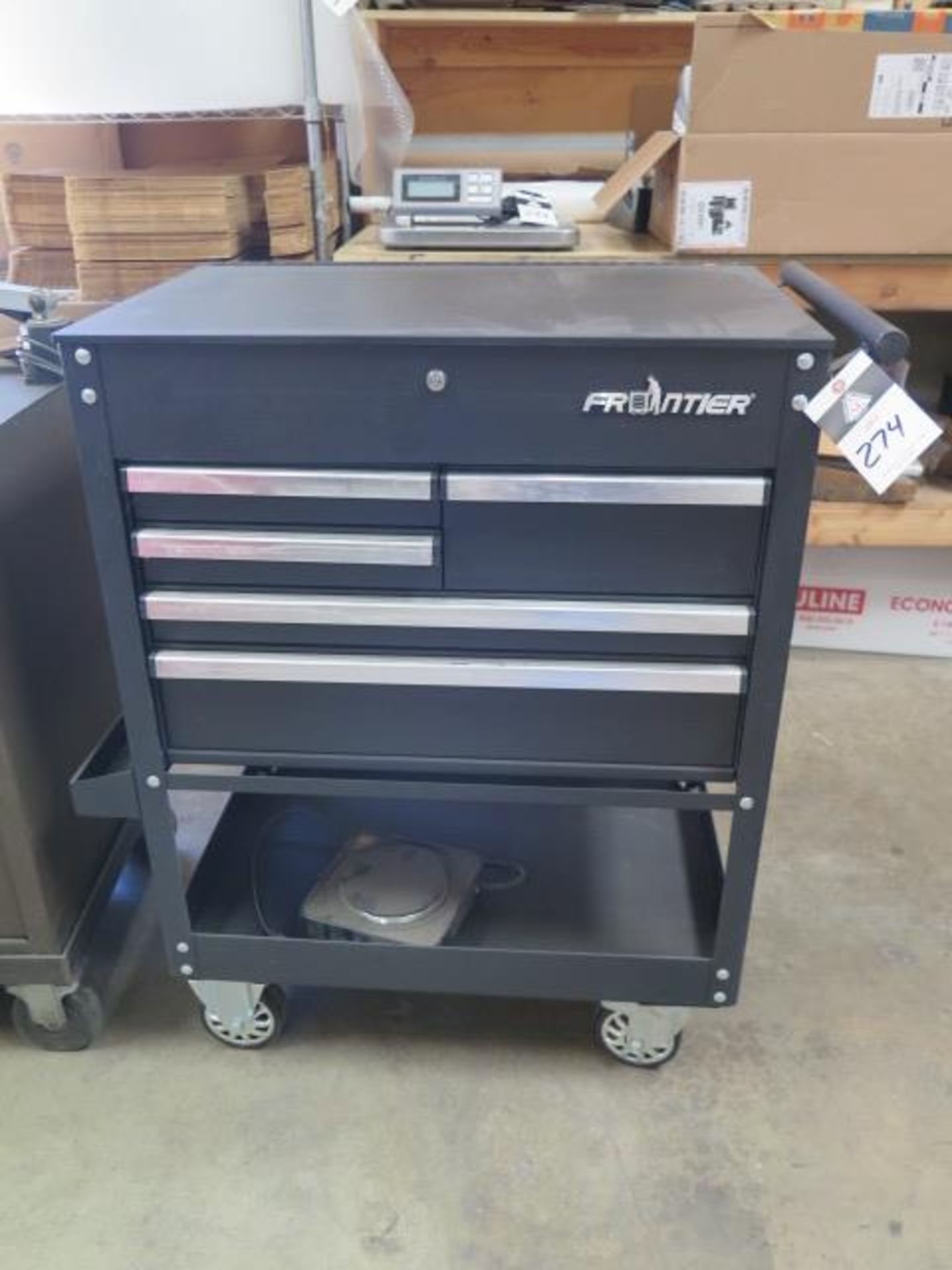 Frontier Roll-A-Way Tool Box (SOLD AS-IS - NO WARRANTY)
