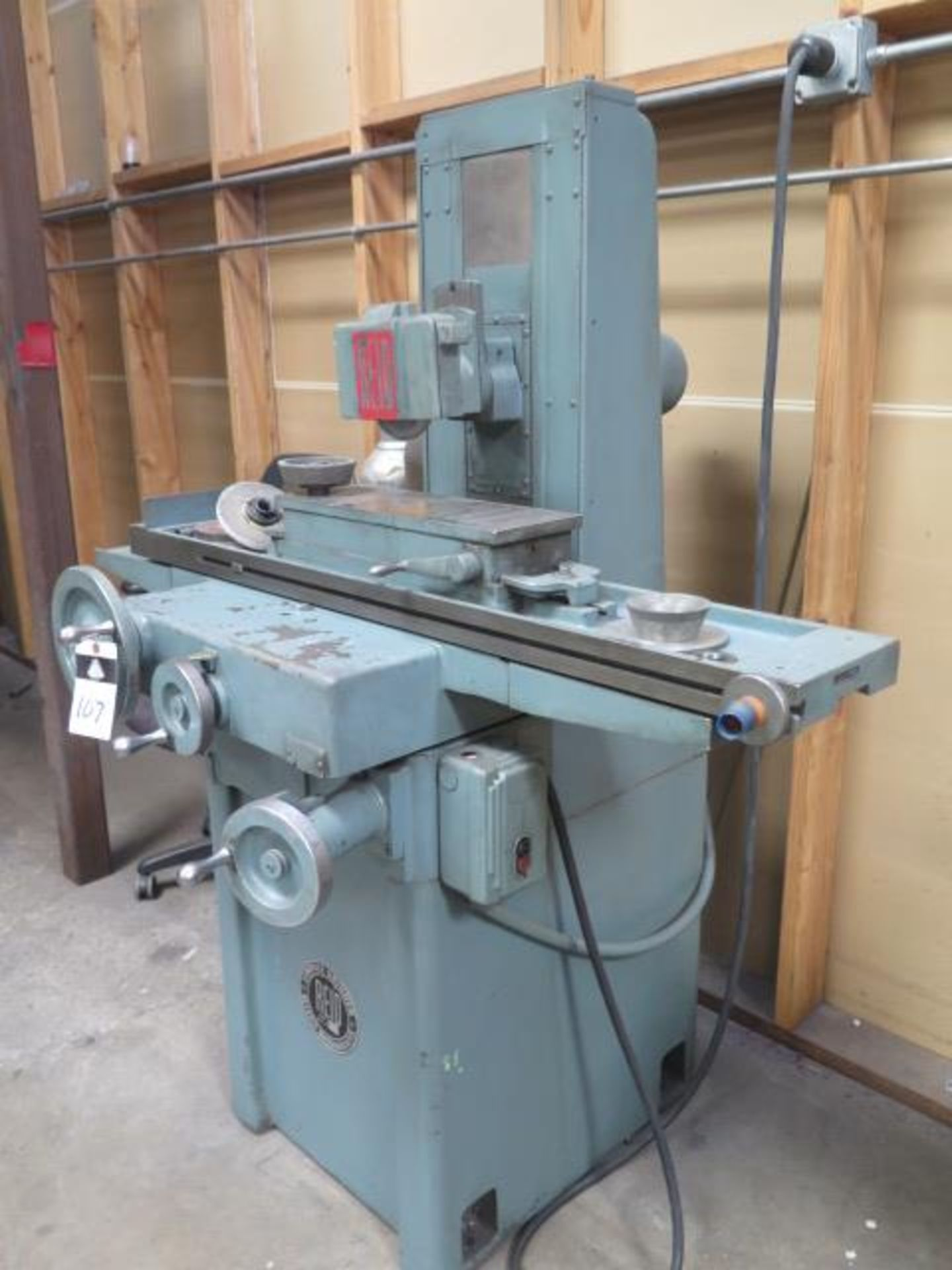 """Reid 618HA 6"""" x 18"""" Surface Grinder s/n 14554 w/ Magnetic Chuck (SOLD AS-IS - NO WARRANTY) - Image 2 of 9"""